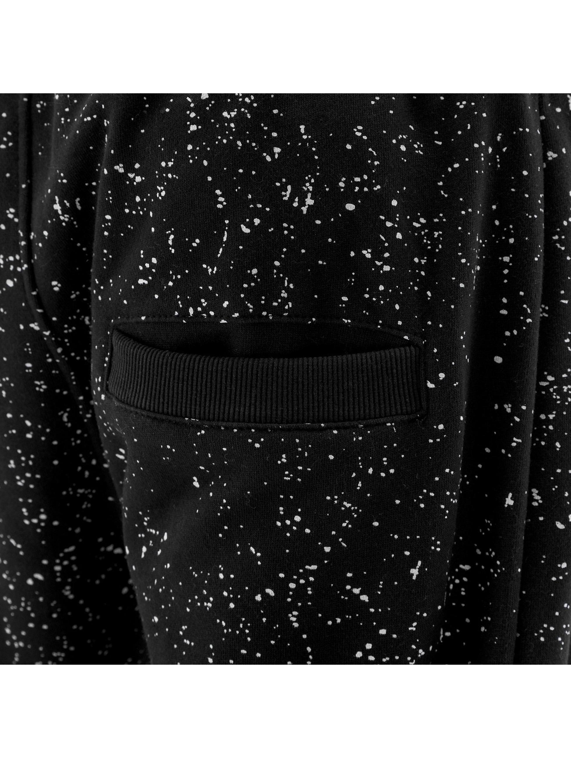 Just Rhyse joggingbroek Dots zwart