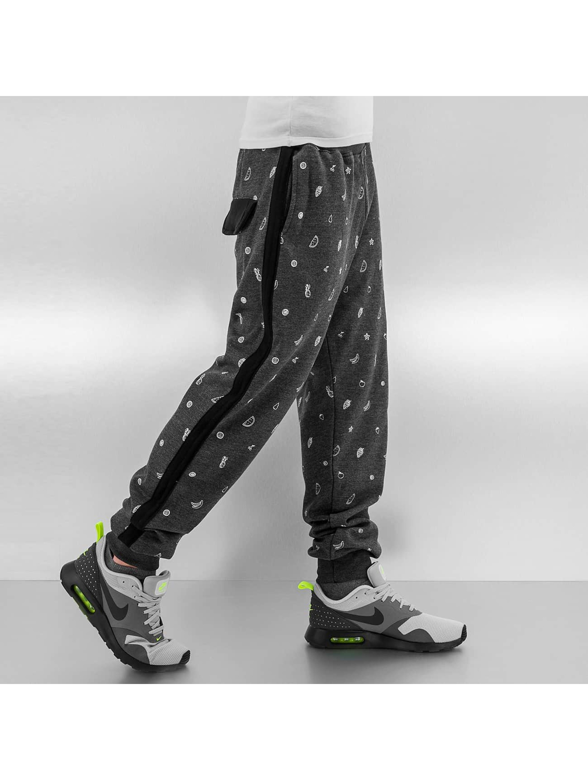 Just Rhyse joggingbroek Fruits zwart