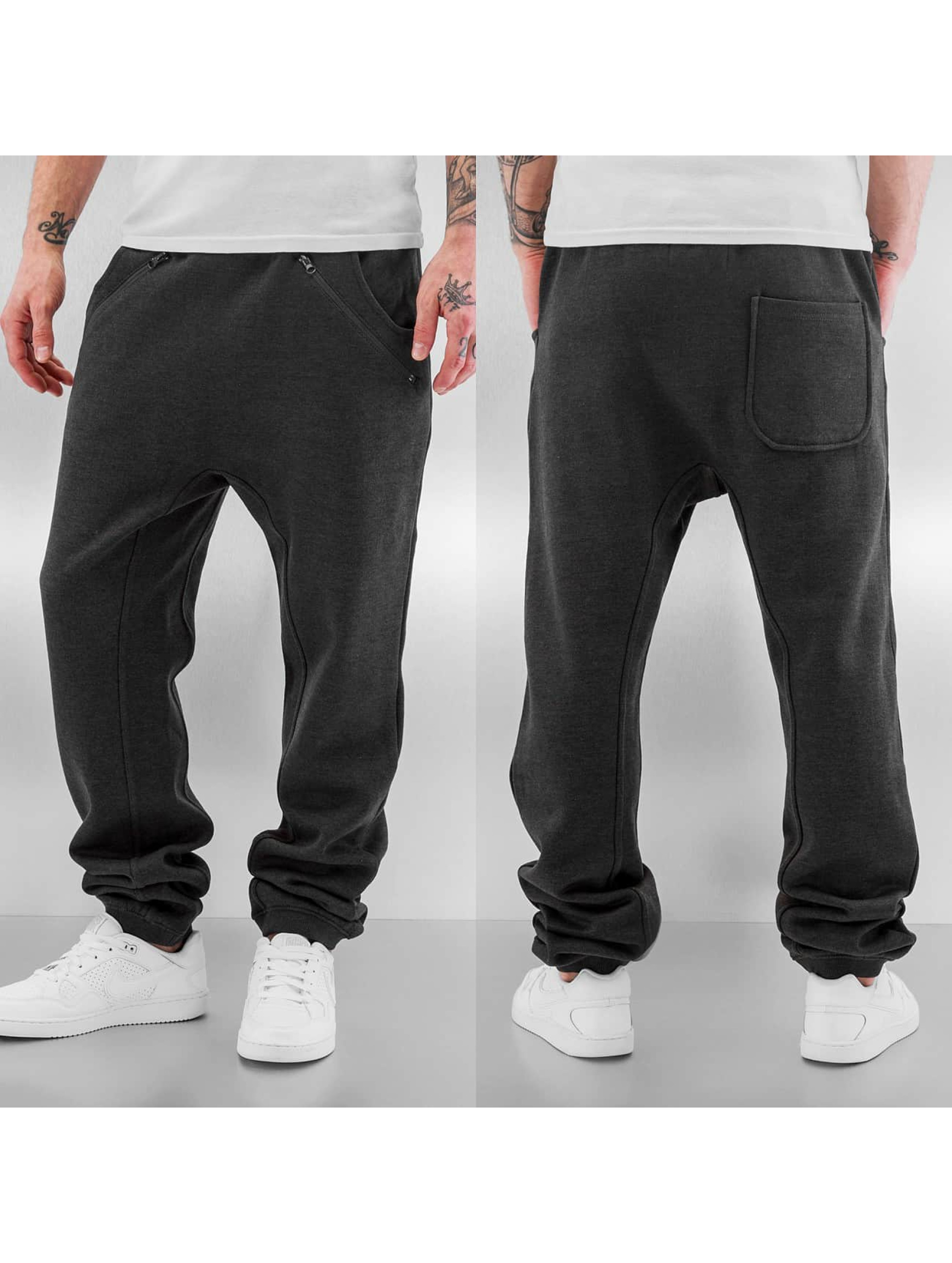 Just Rhyse Jogginghose Rasco 2.0 Zip grau