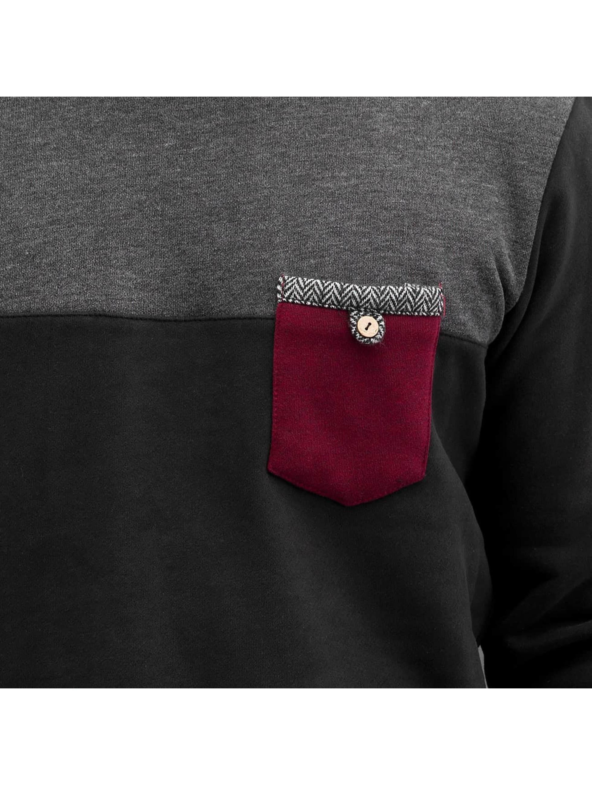 Just Rhyse Jumper Breast Pocket black