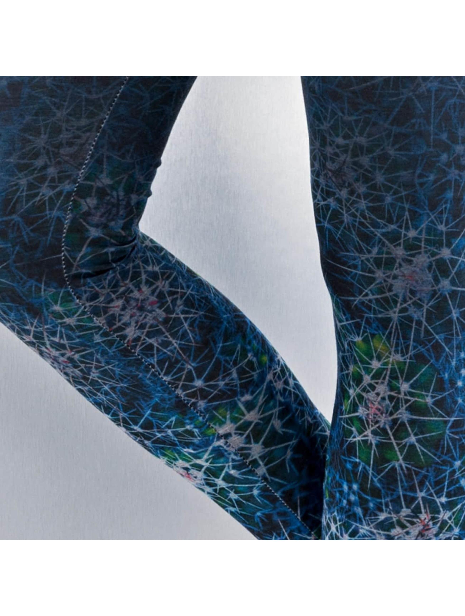 Just Rhyse Legging Cactus blauw