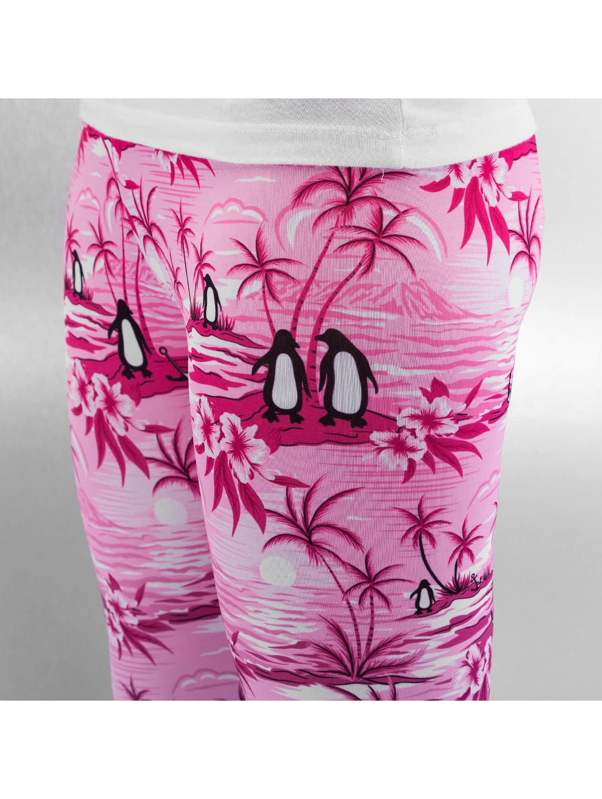 Just Rhyse Leggingsit/Treggingsit Penguin vaaleanpunainen