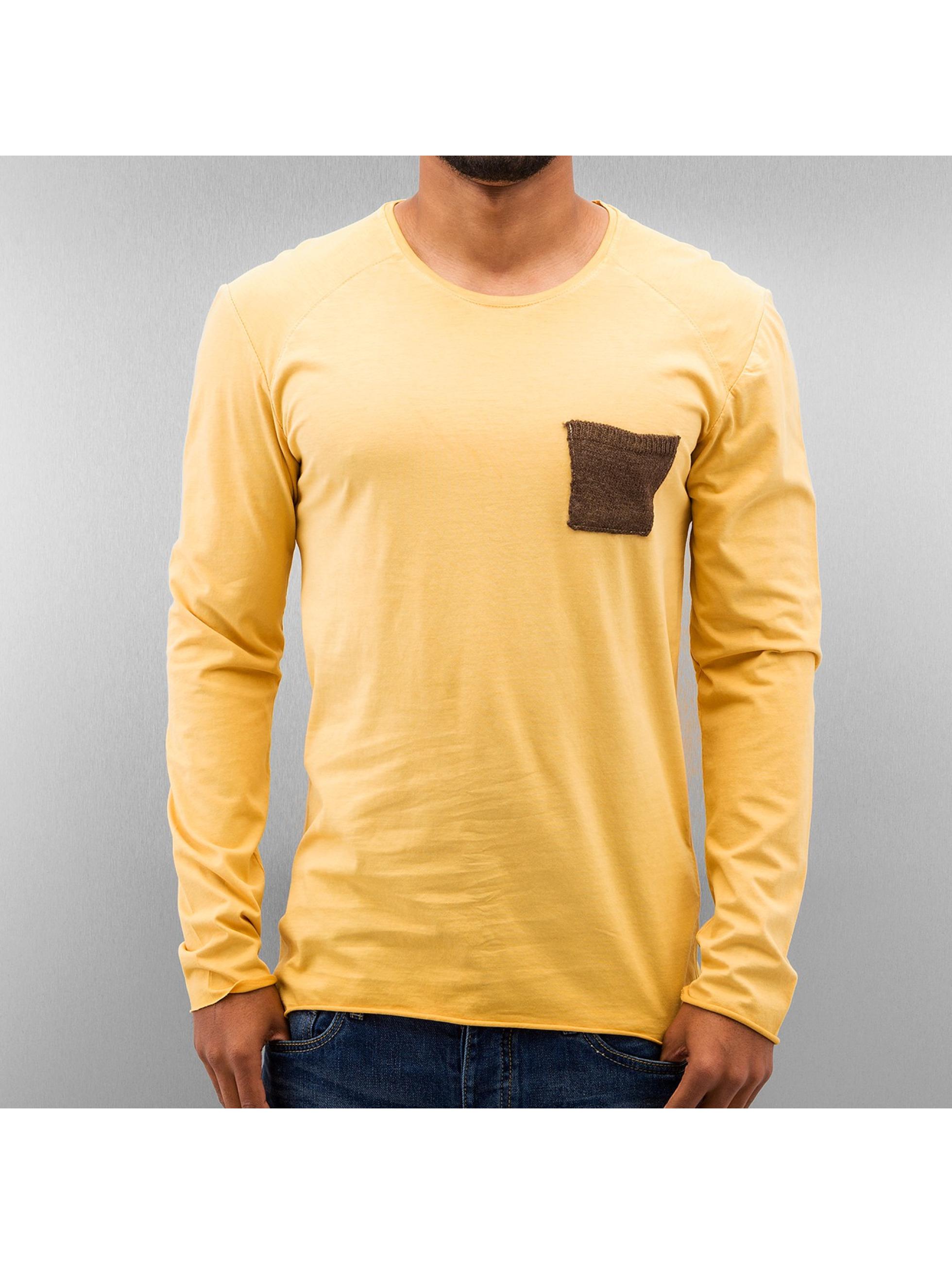 Longsleeve Breast Pocket in gelb