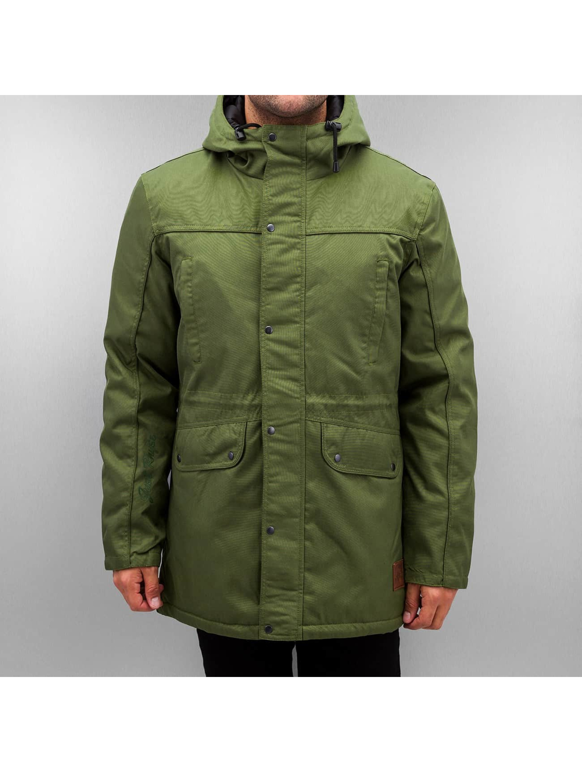 Just Rhyse Manteau hiver Winter olive