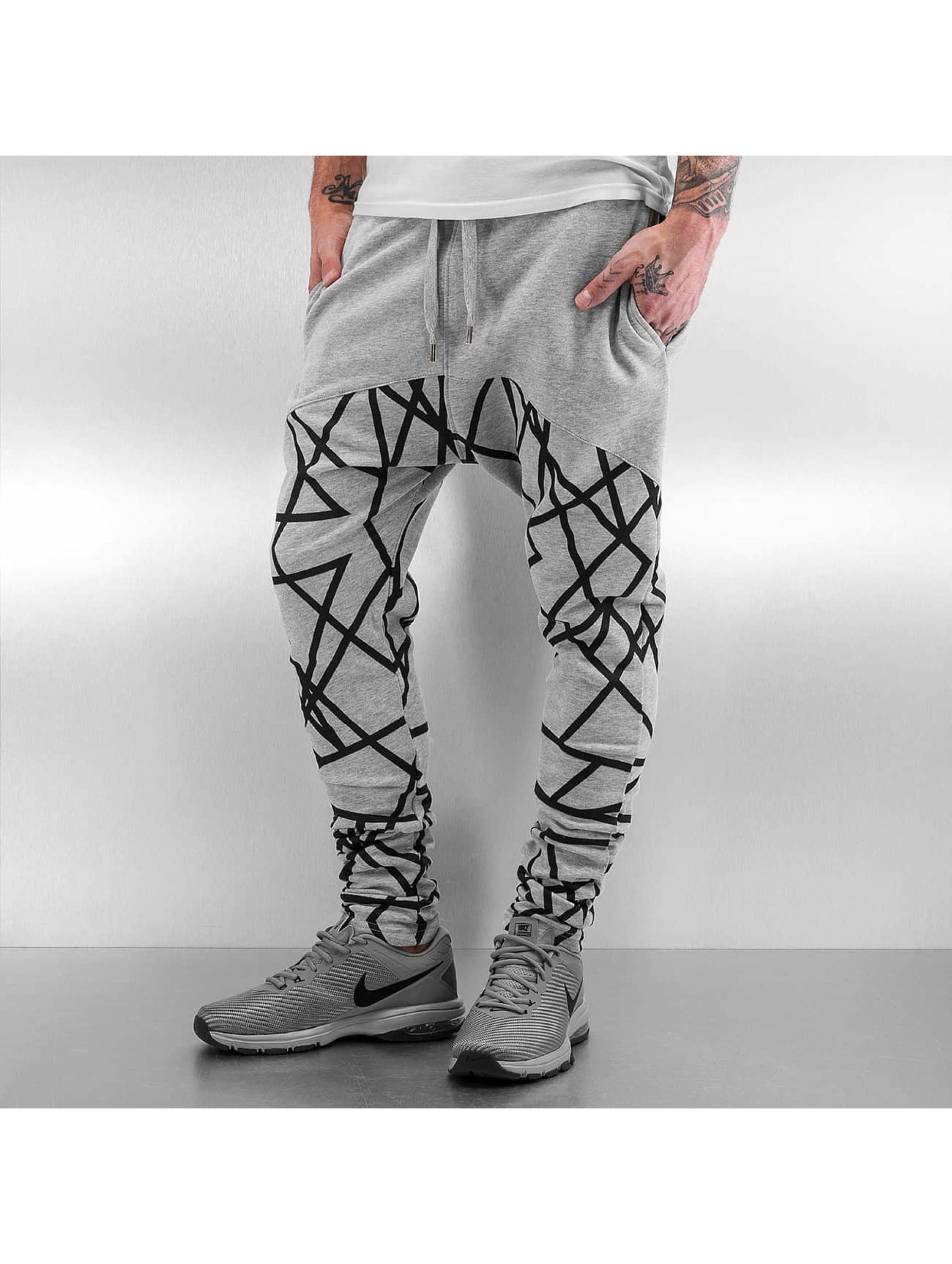 Just Rhyse Pantalone ginnico Many grigio