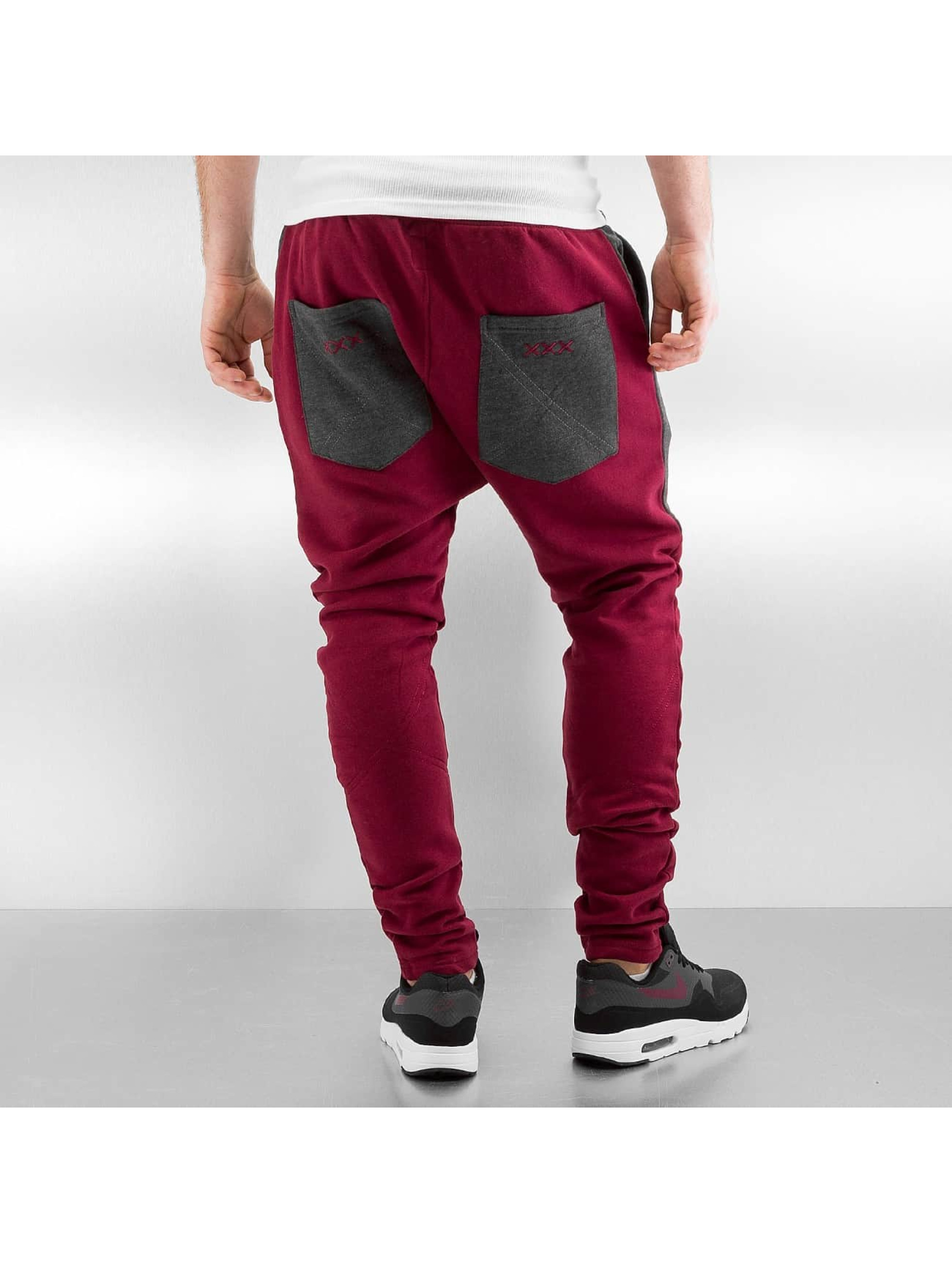 Just Rhyse Pantalone ginnico Ted rosso