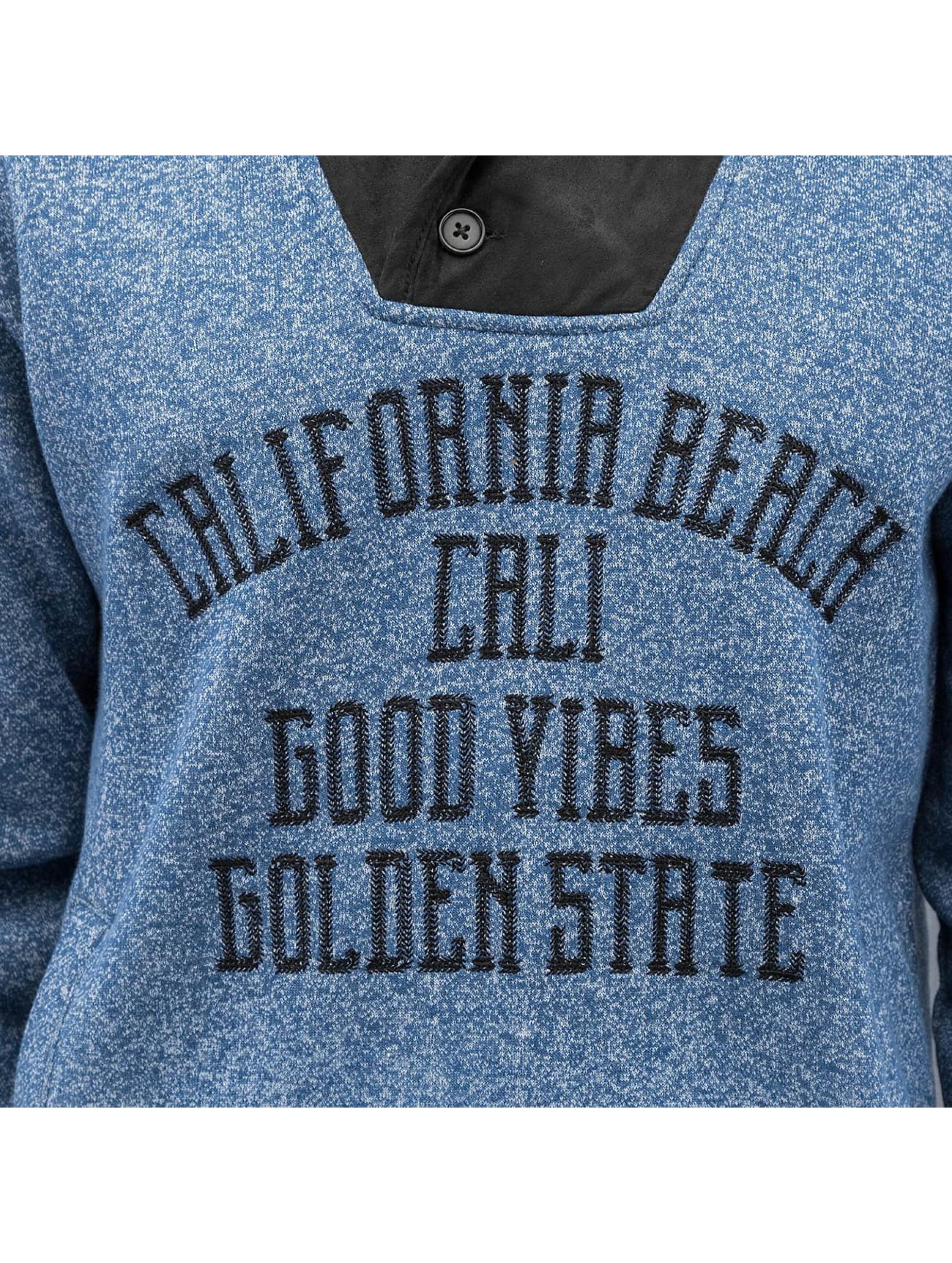 Just Rhyse Pullover California Beach blau