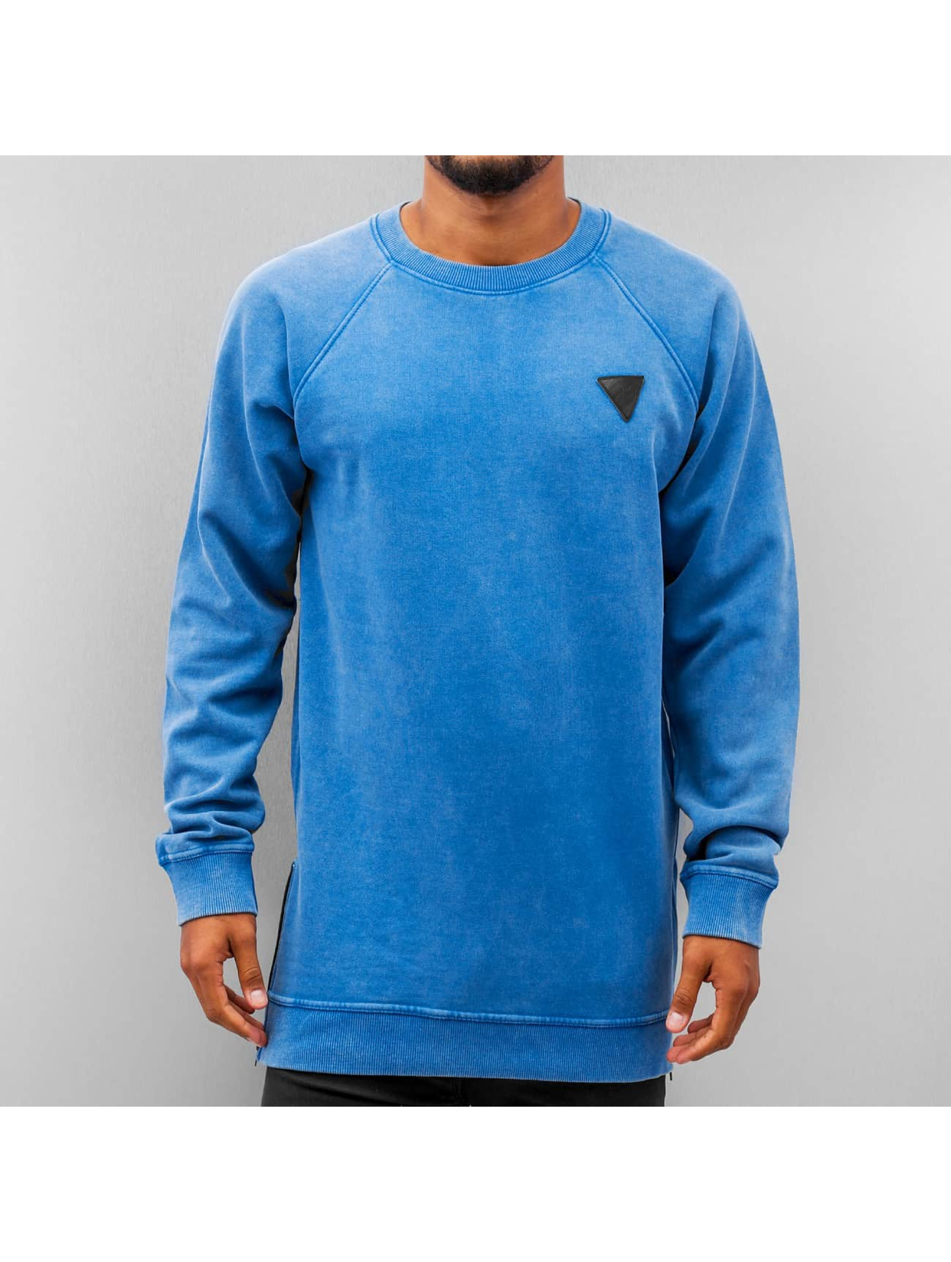 Just Rhyse Pullover Zip blau