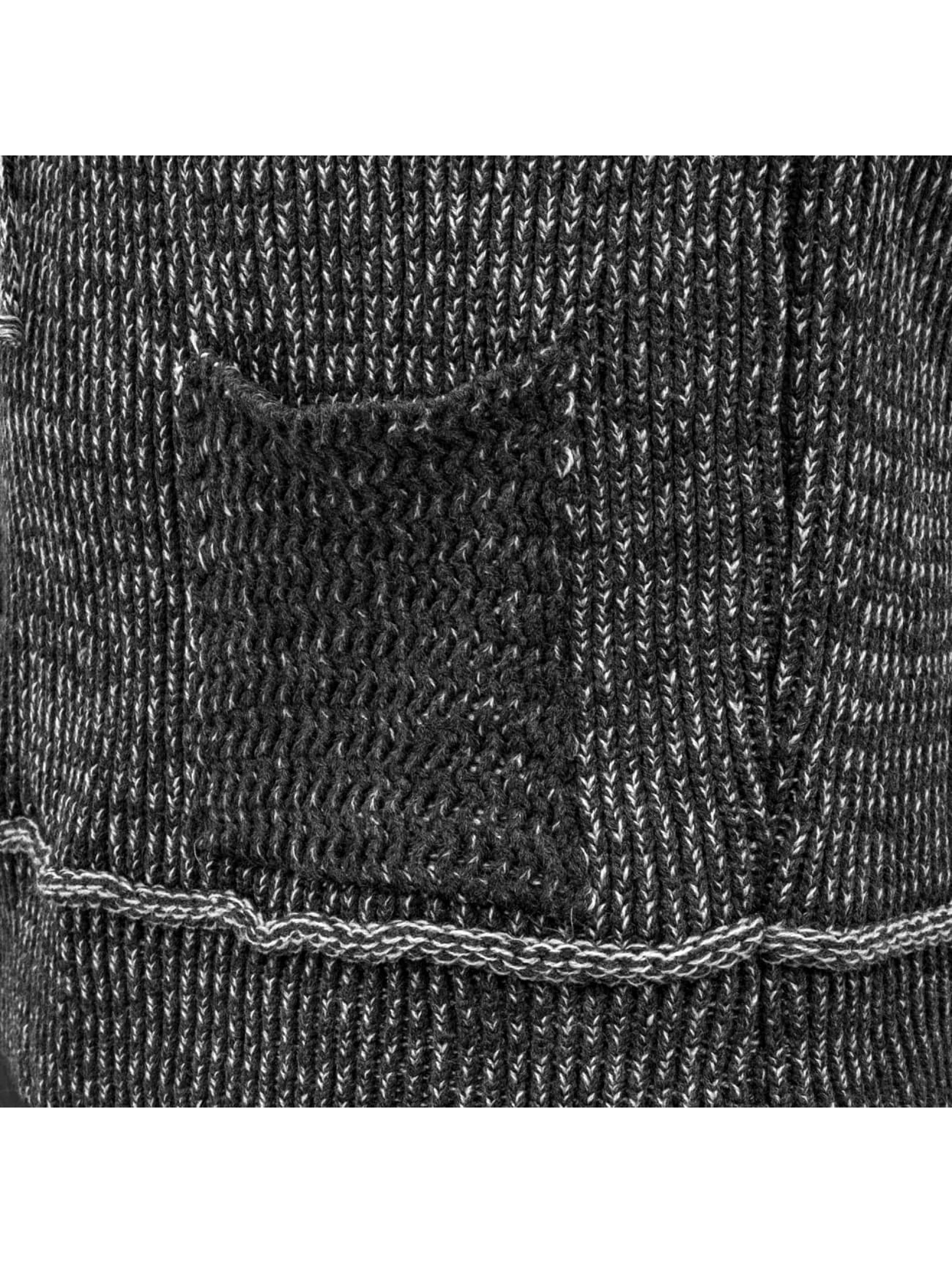 Just Rhyse Pullover Knit grau