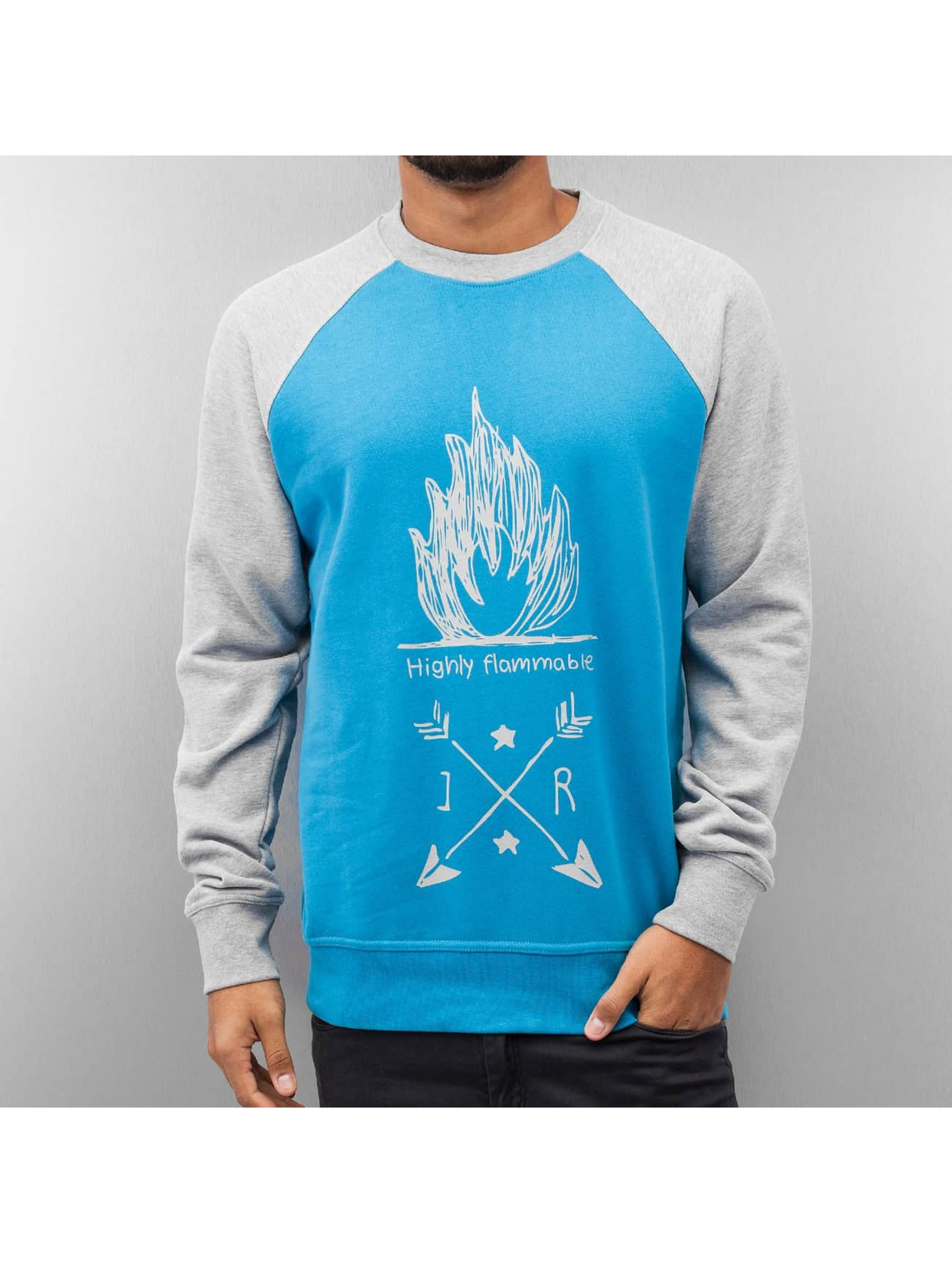 Just Rhyse Pullover Highly Flammable grau