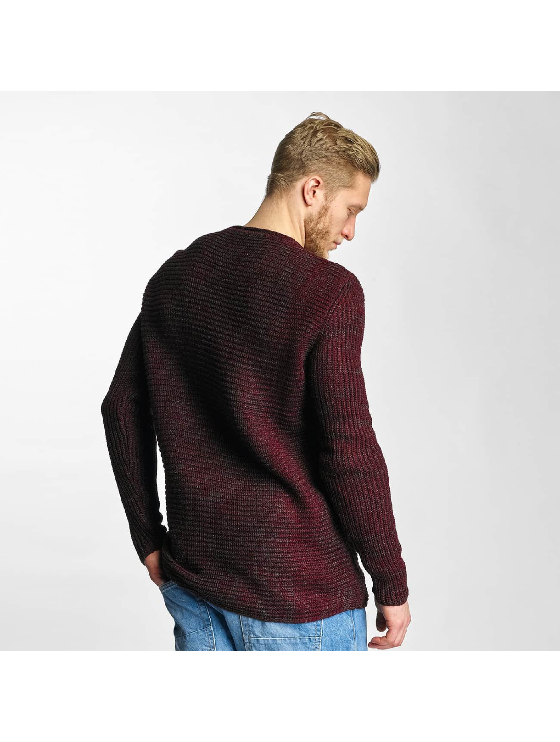 Just Rhyse Pullover Soft Knit red