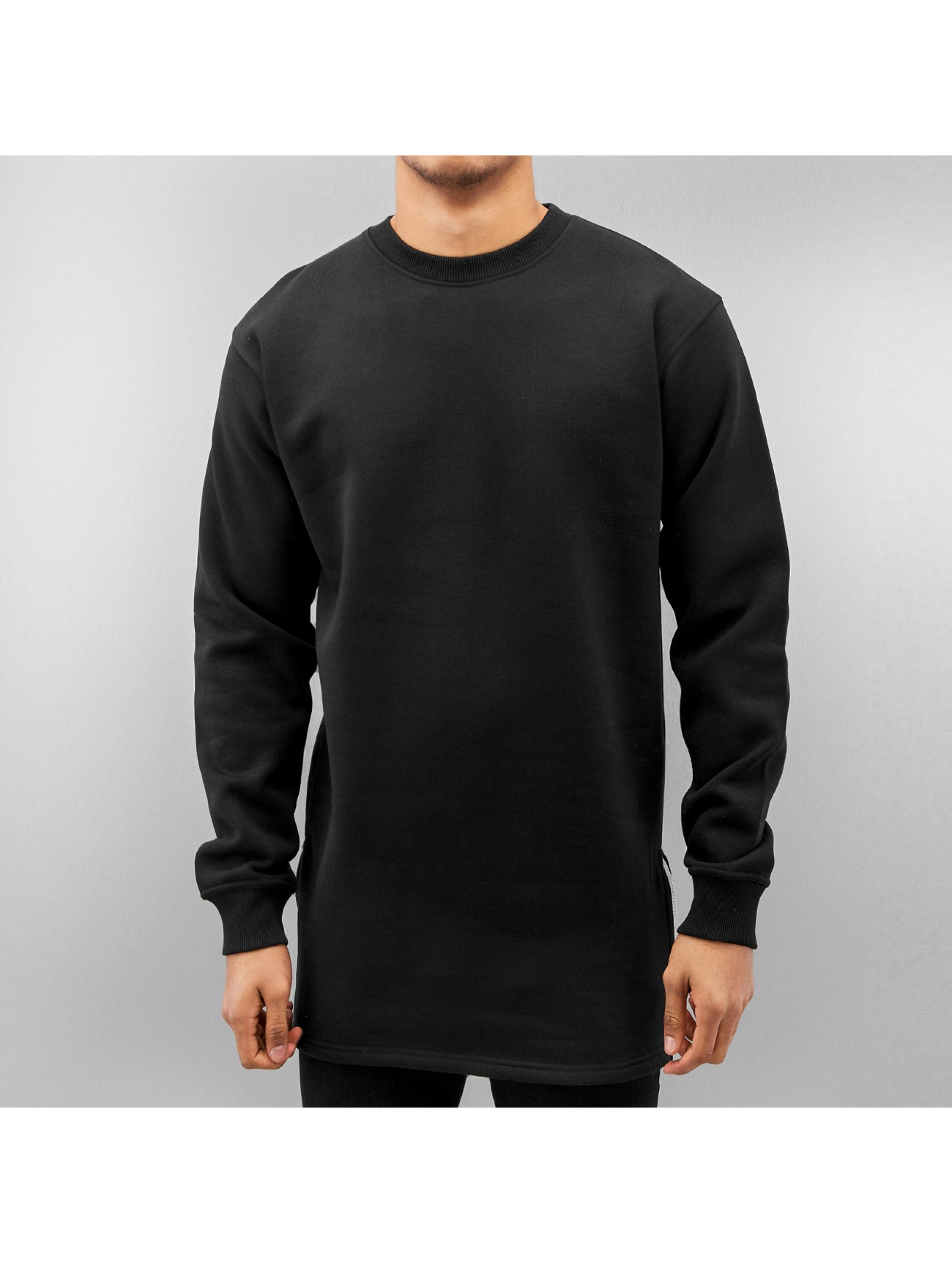 Just Rhyse Pullover Long schwarz