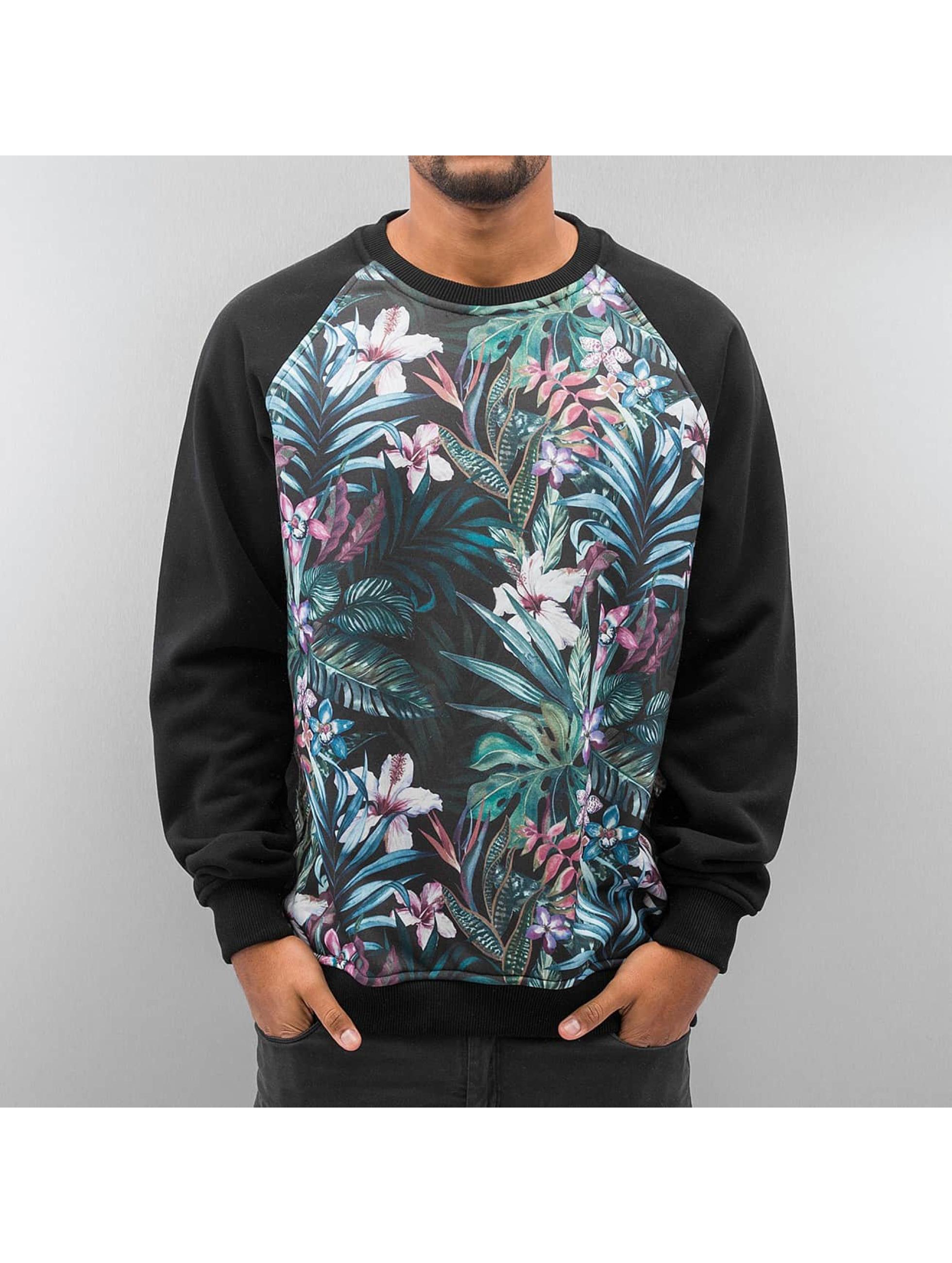 Pullover Flower in schwarz