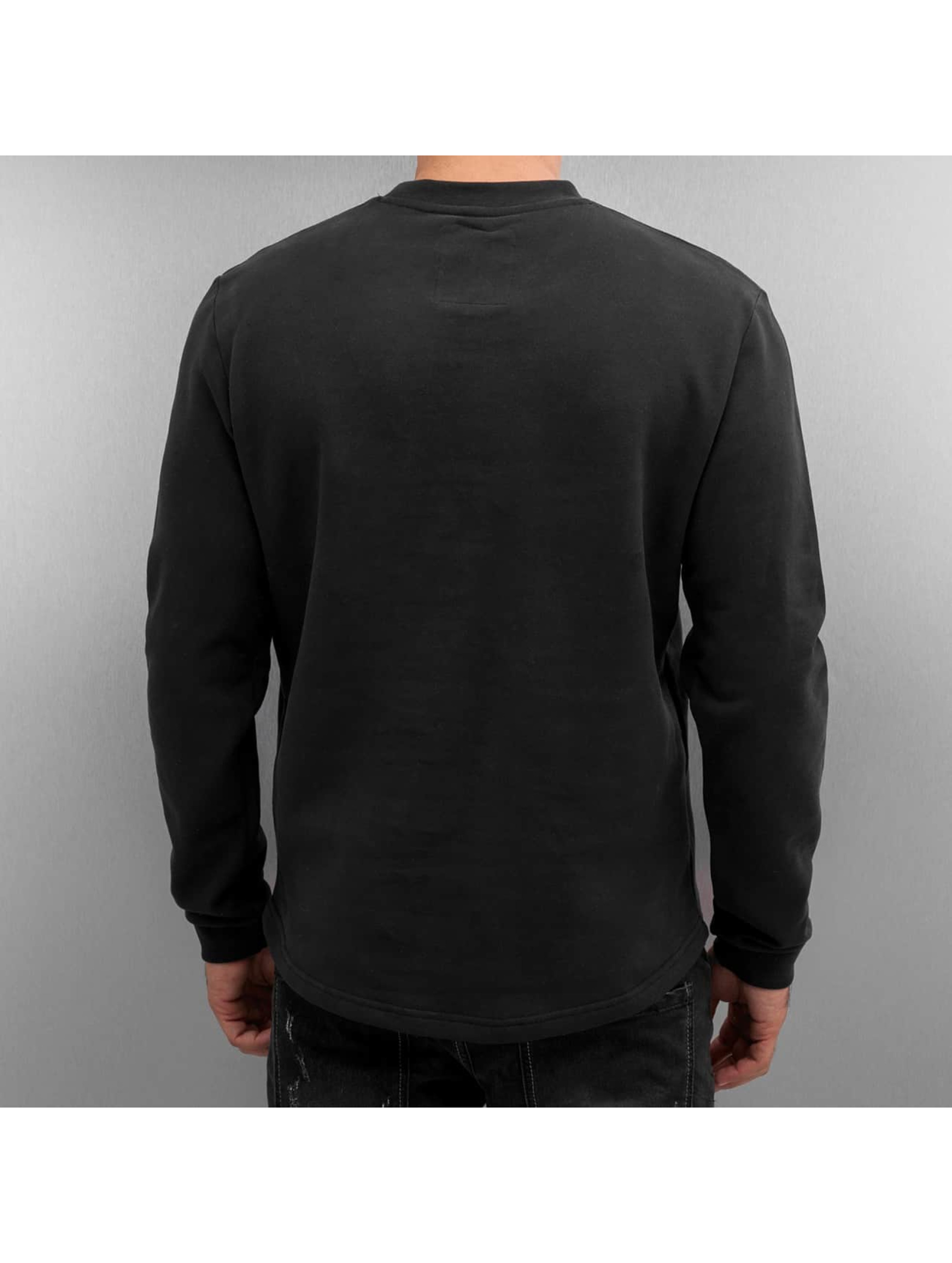 Just Rhyse Pullover Breast Pocket schwarz