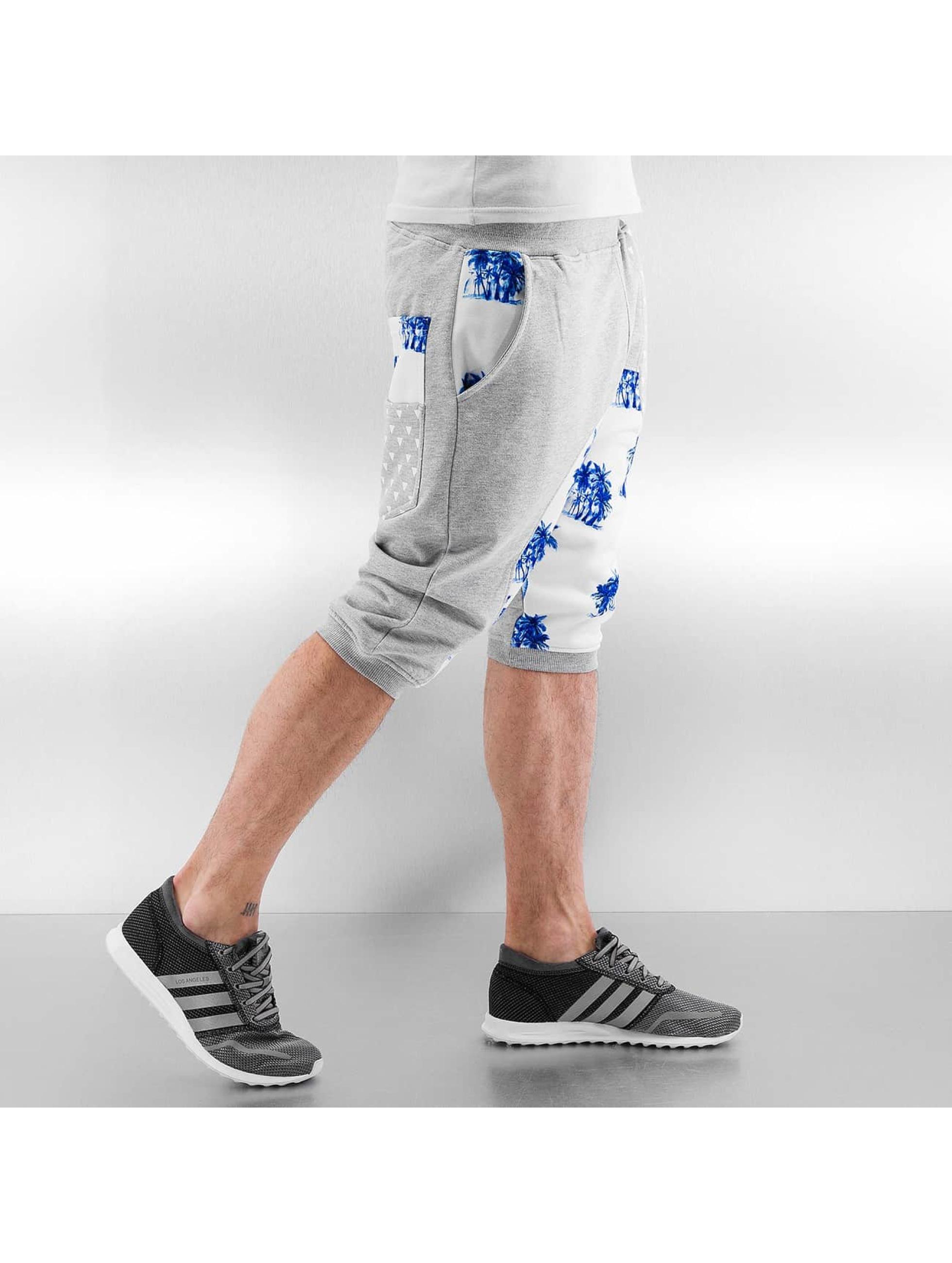 Just Rhyse Shorts Palms grau