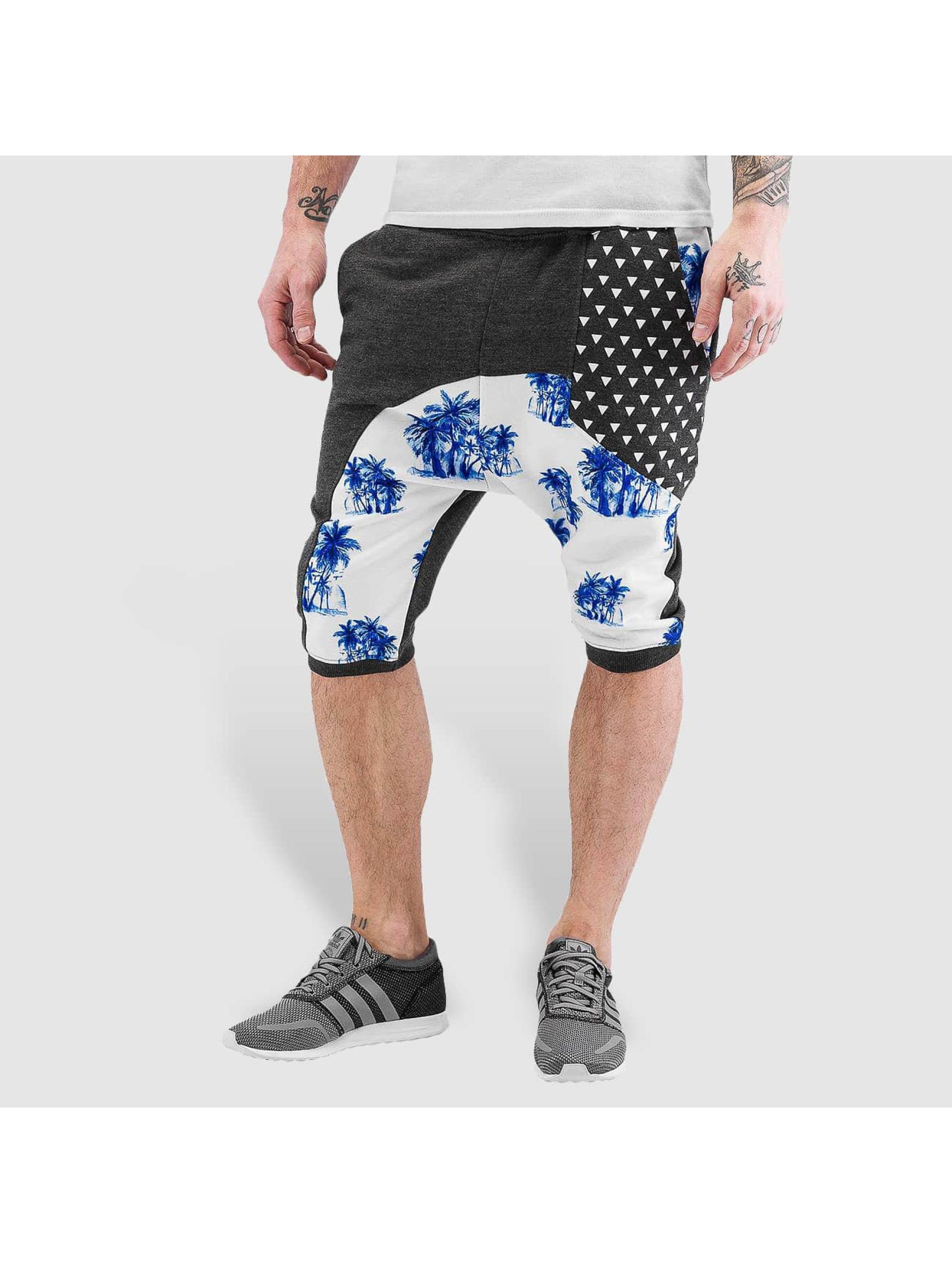 Just Rhyse shorts Palms grijs