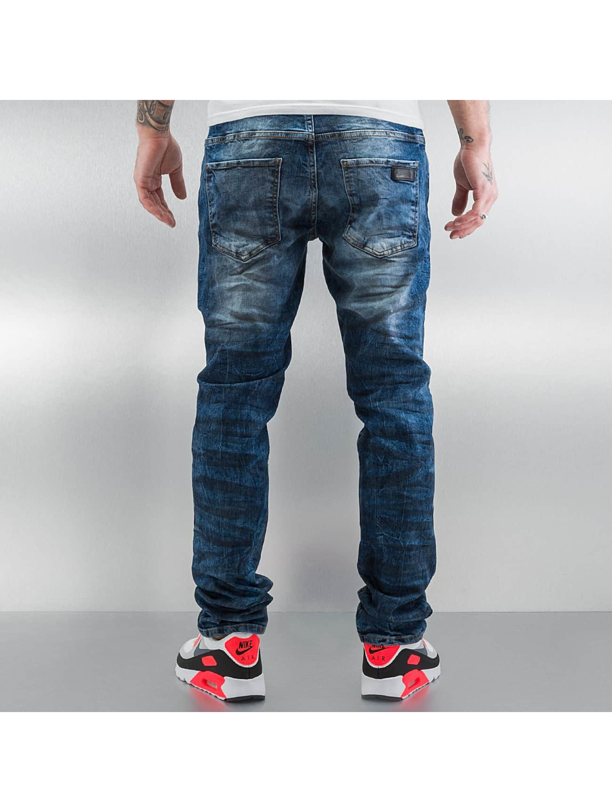 Just Rhyse Skinny Jeans Oil blue