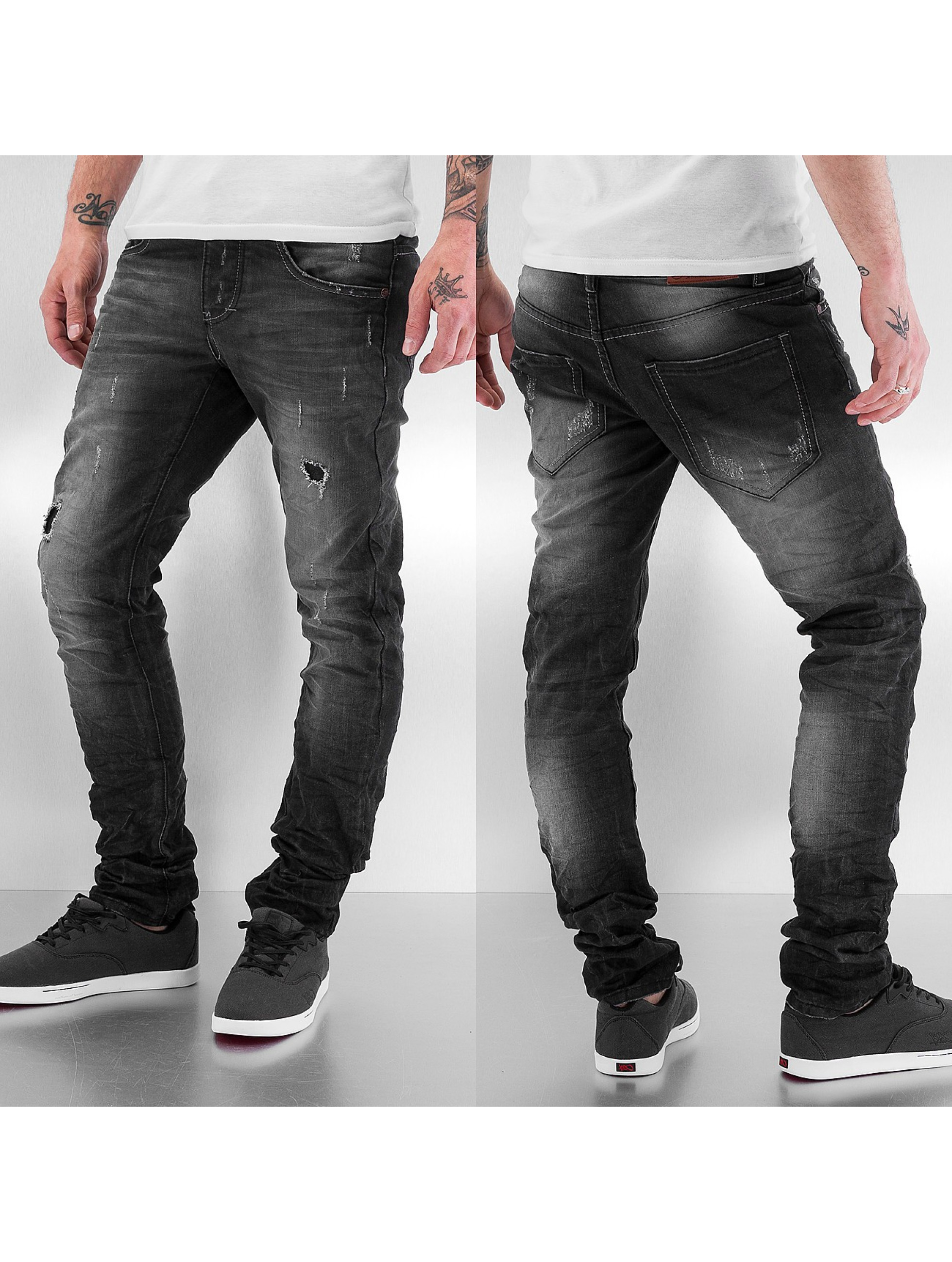 Just Rhyse Skinny jeans Shiono grijs