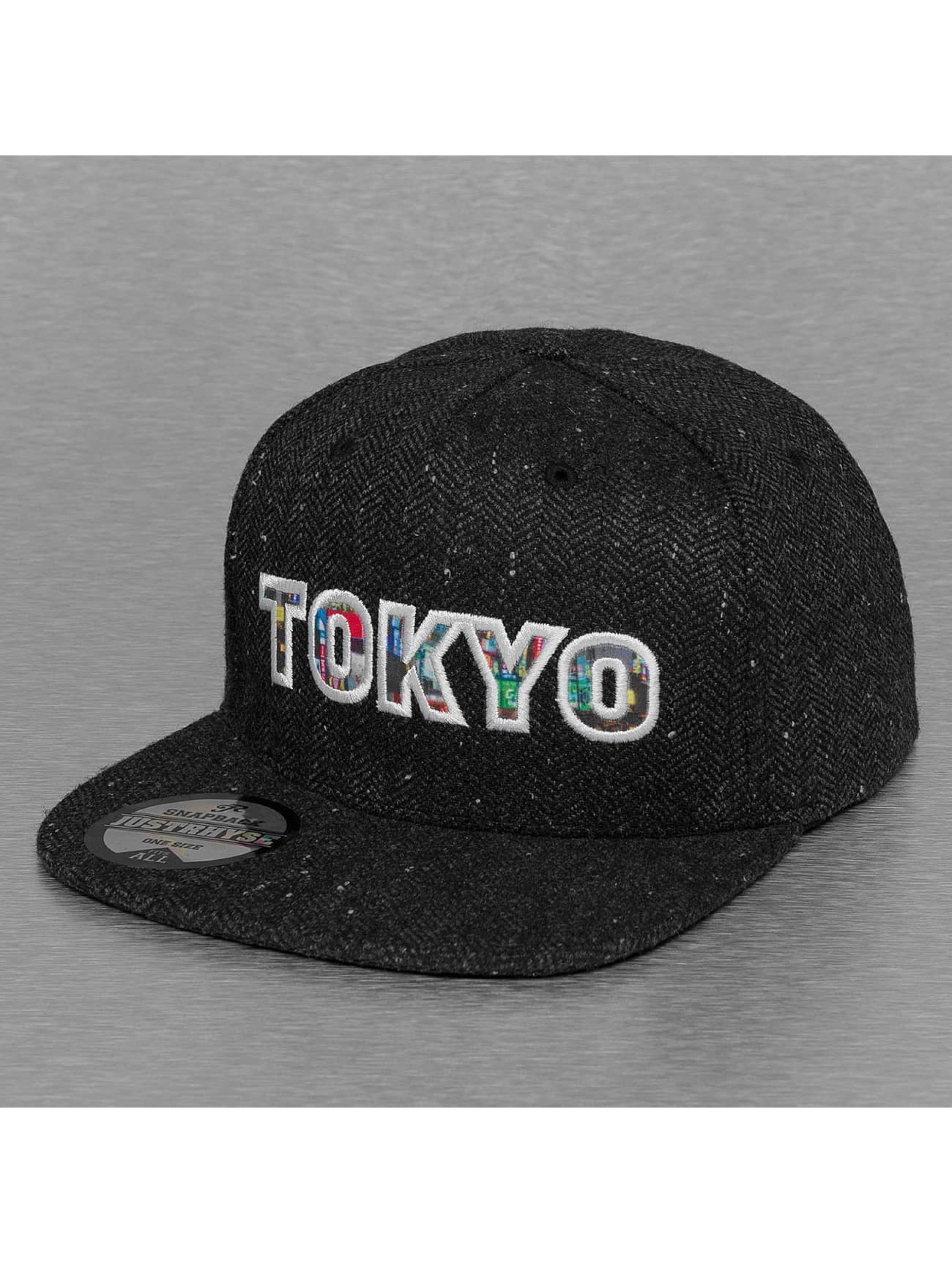 Just Rhyse Snapback Tokyo èierna