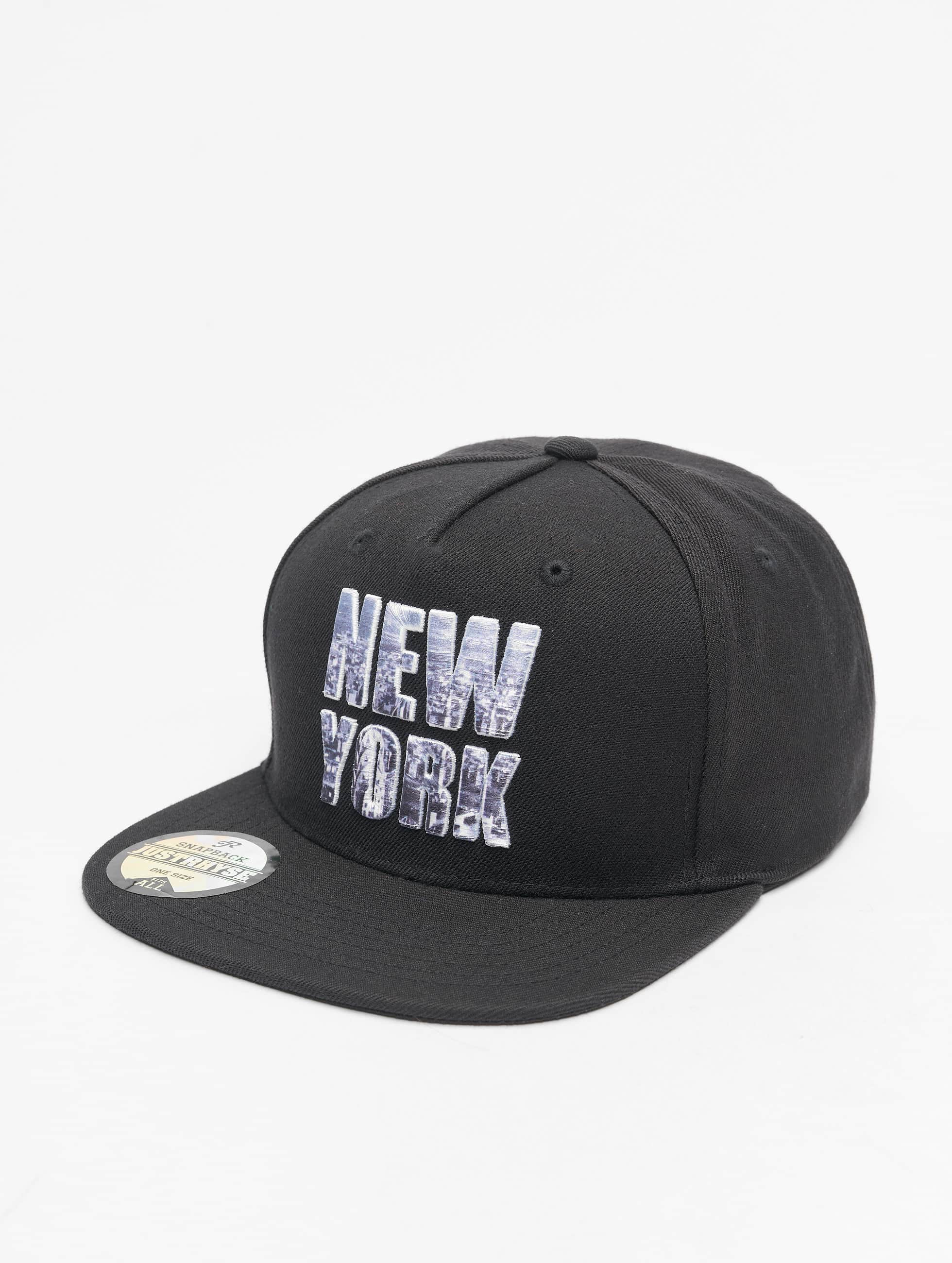 Just Rhyse Snapback Cap New York Style black