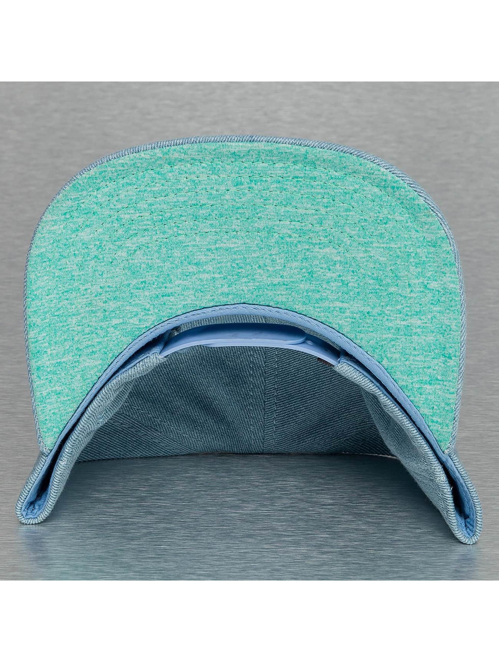 Just Rhyse Snapback Cap Plant Logo blau