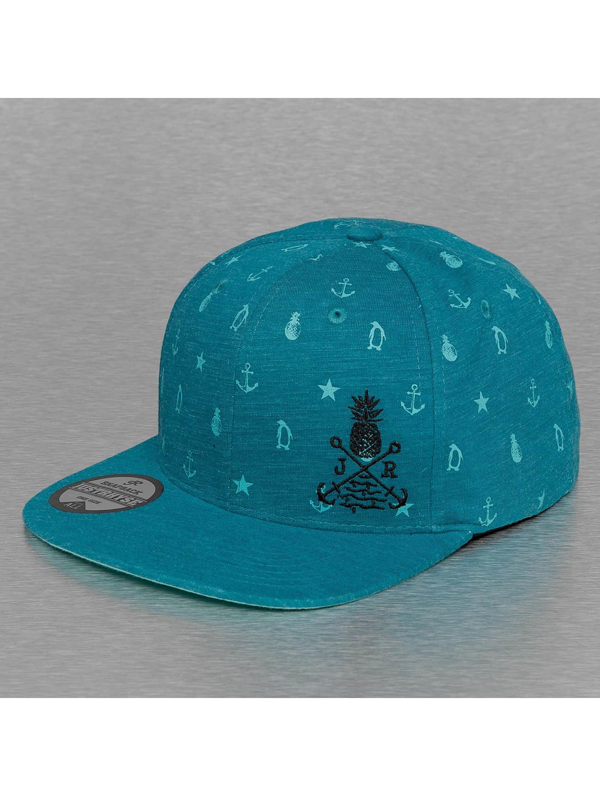 Just Rhyse Snapback Cap Ocean blau