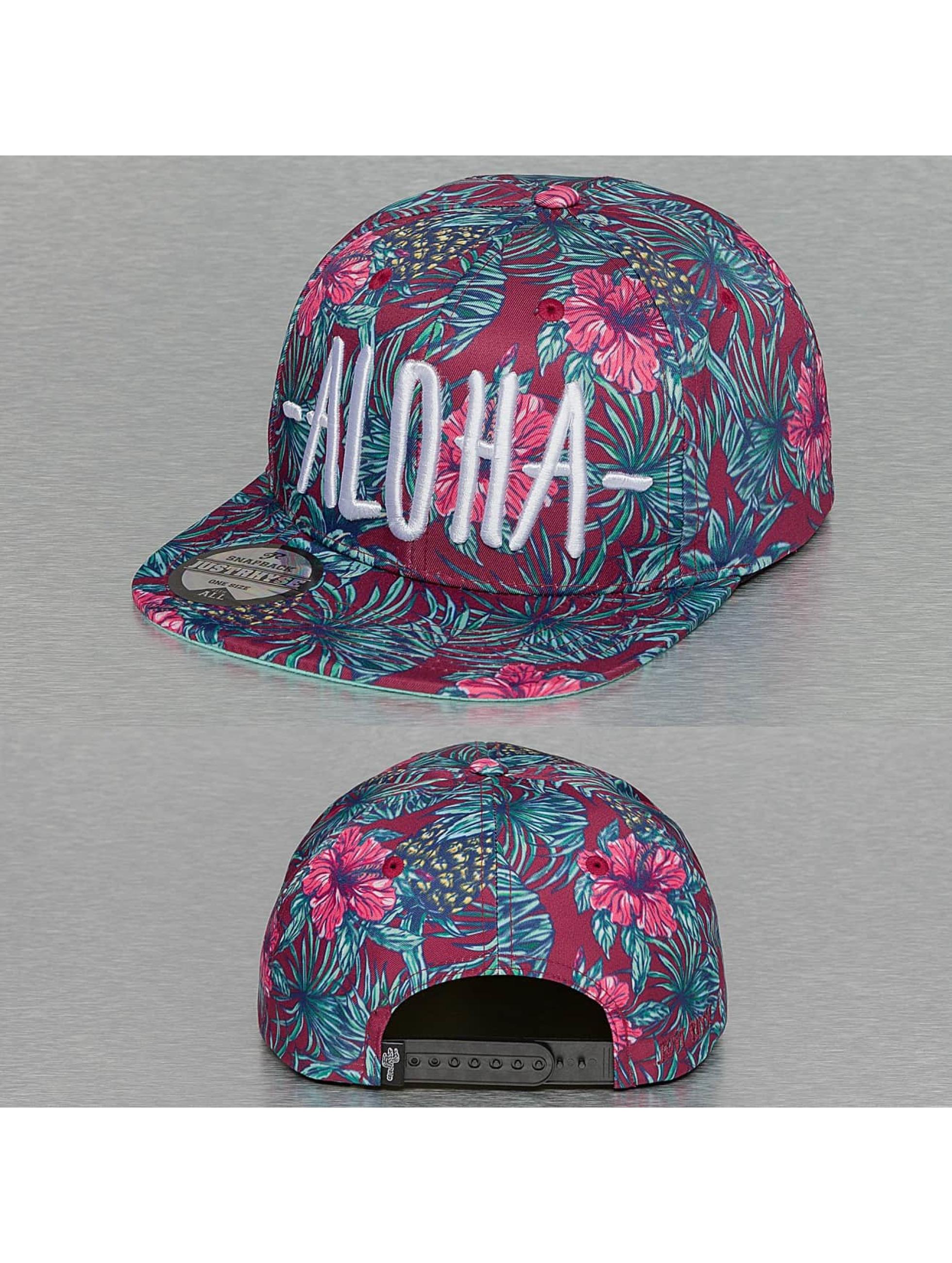 Just Rhyse Snapback Cap Aloha bunt
