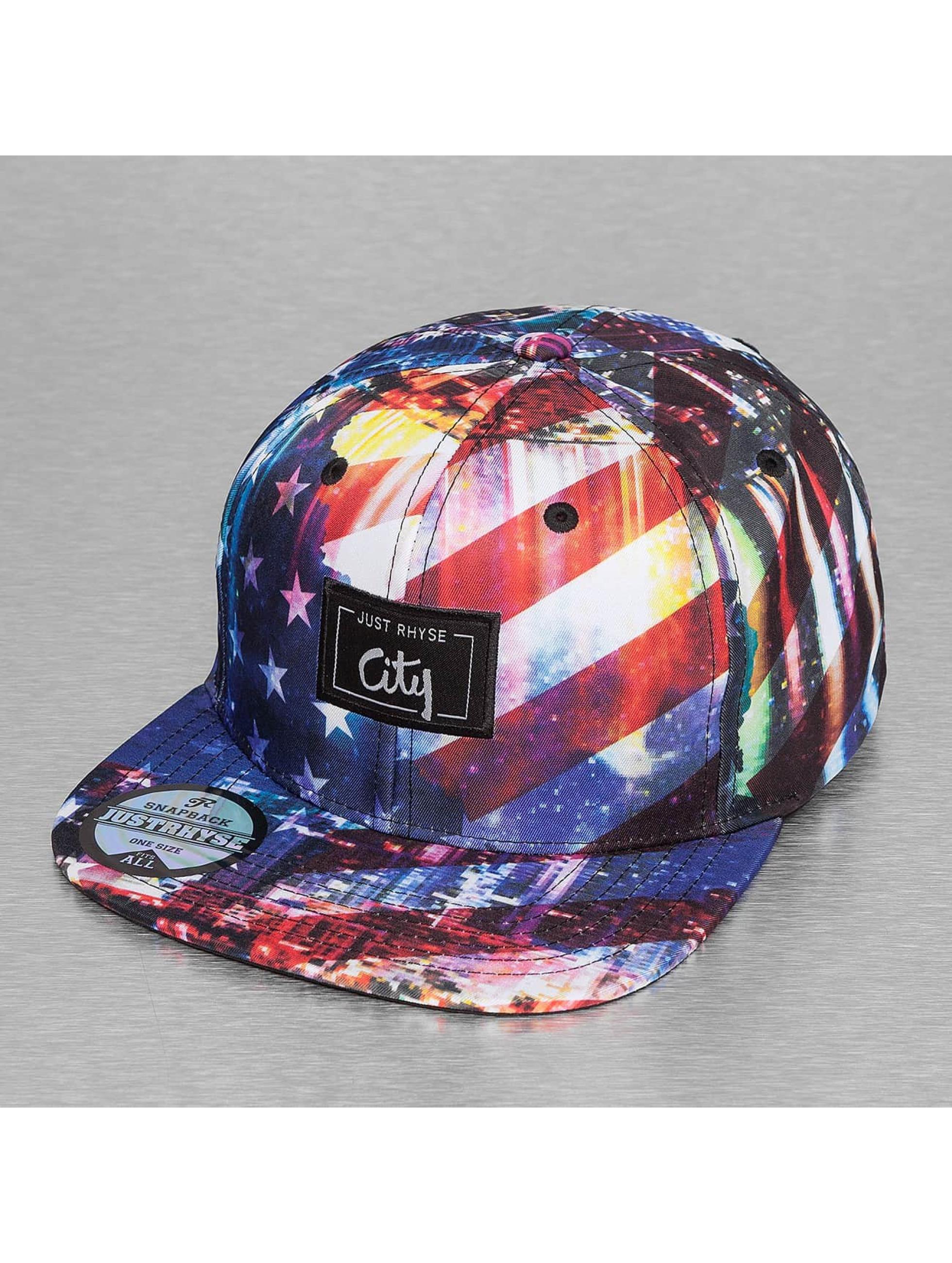 Just Rhyse Snapback Cap Stars Stripes colored