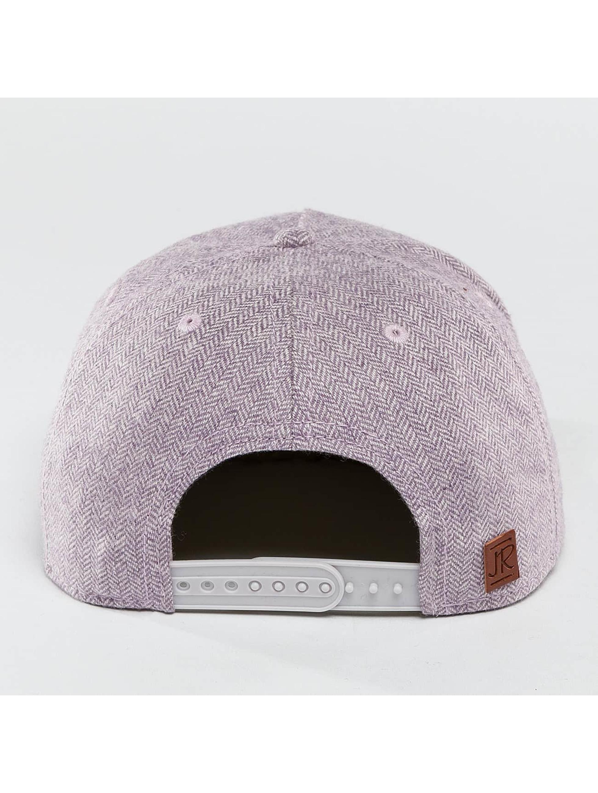 Just Rhyse Snapback Cap Wood Rhyser purple