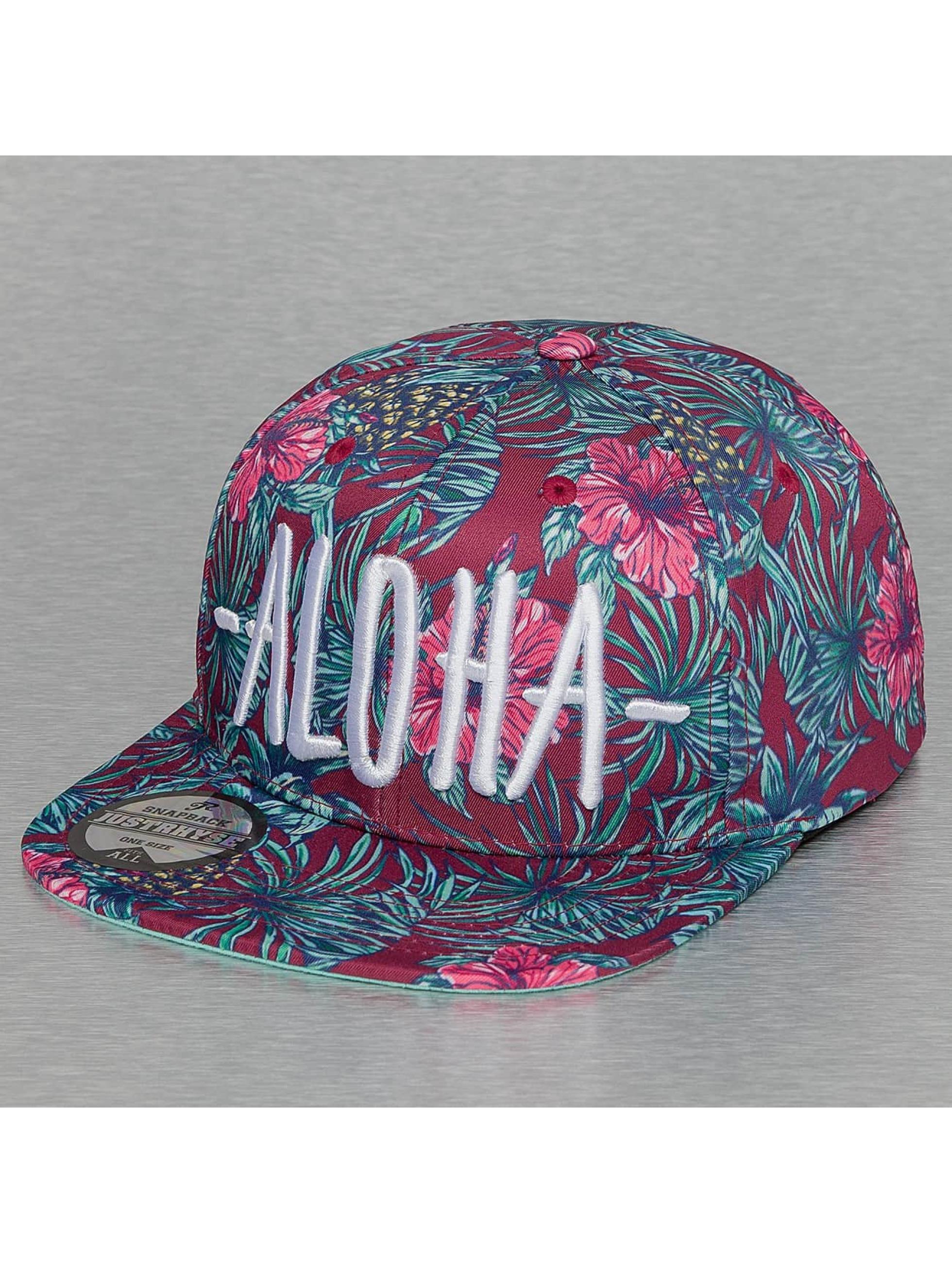 Just Rhyse Snapback Aloha pestrá