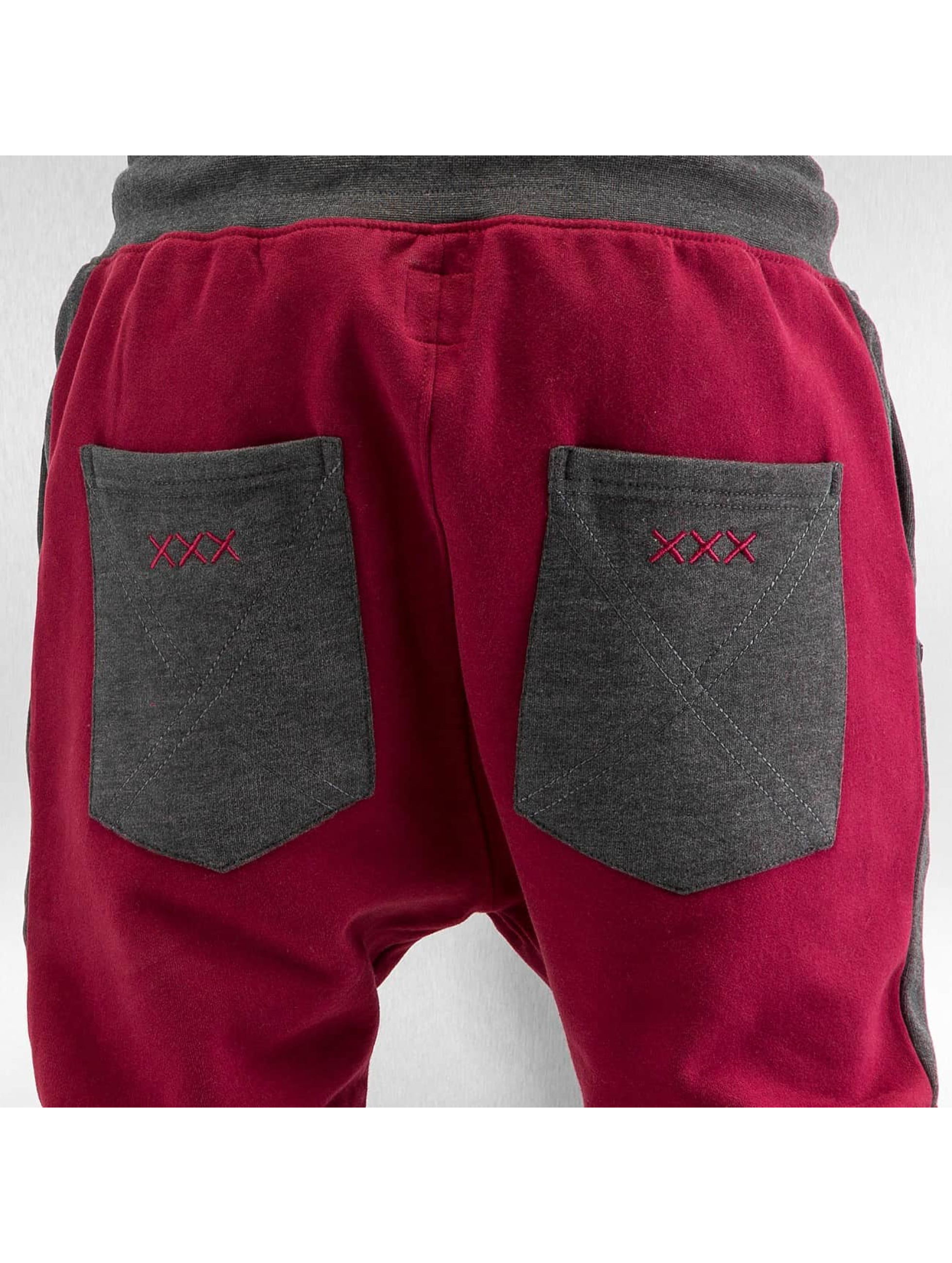 Just Rhyse Spodnie do joggingu Ted czerwony