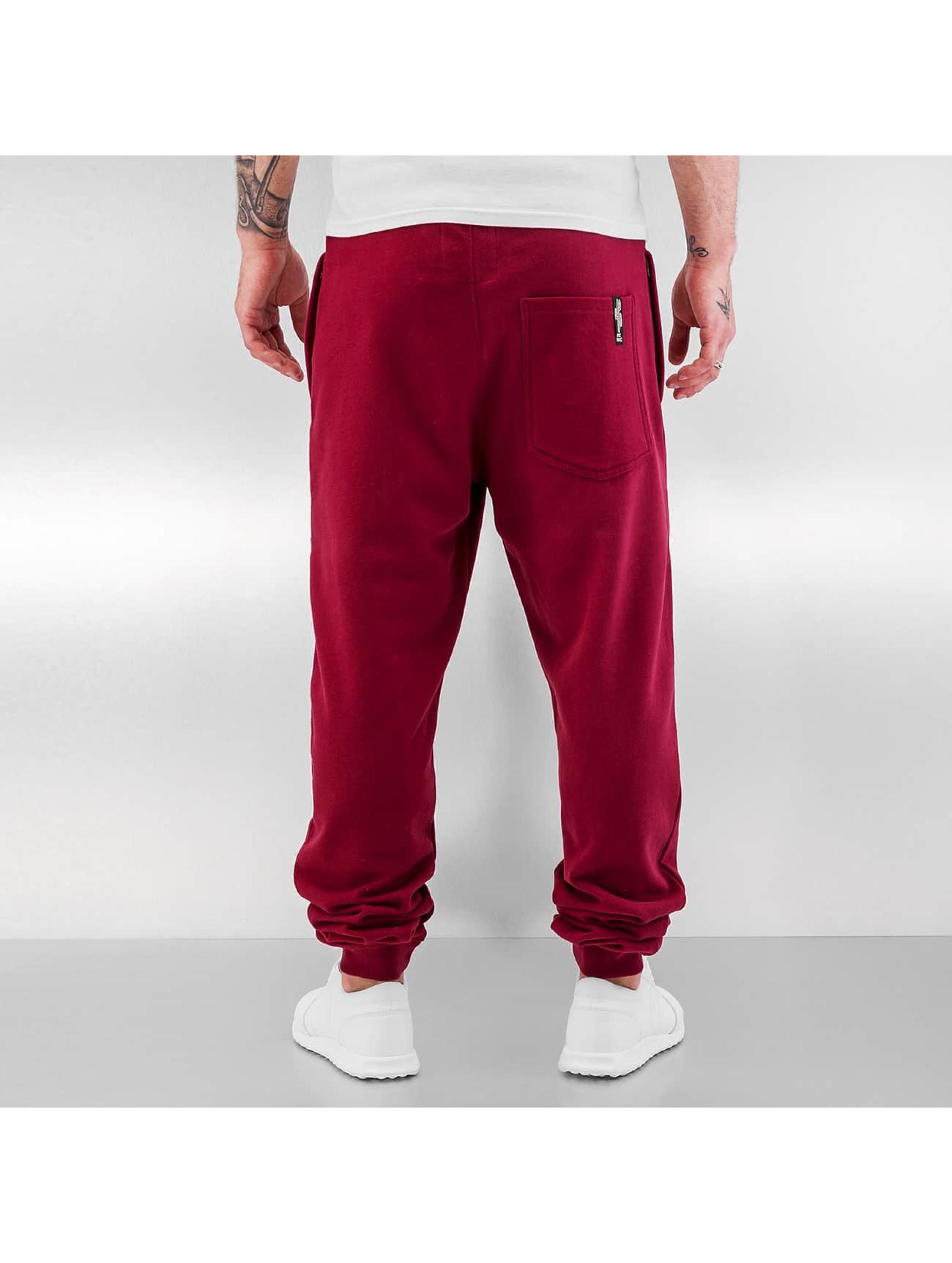 Just Rhyse Spodnie do joggingu Guanto czerwony