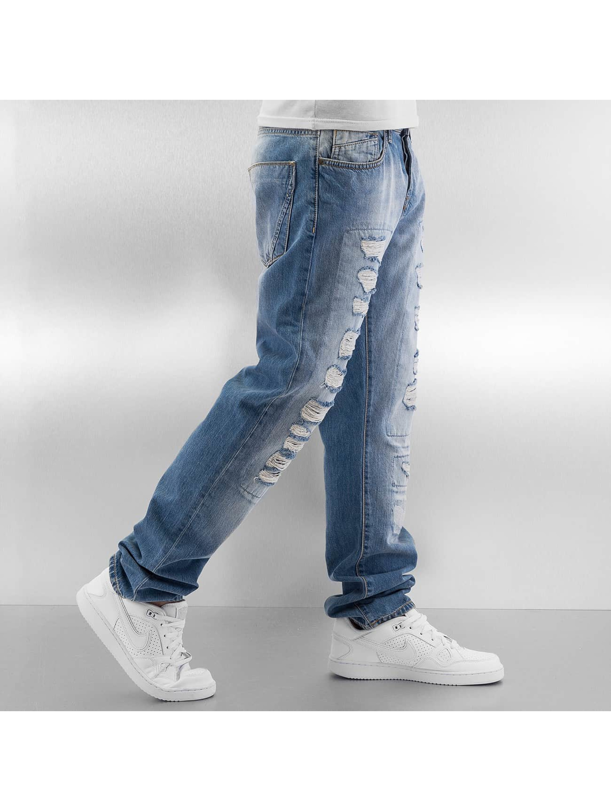 Just Rhyse Straight Fit Jeans Tyrees blå