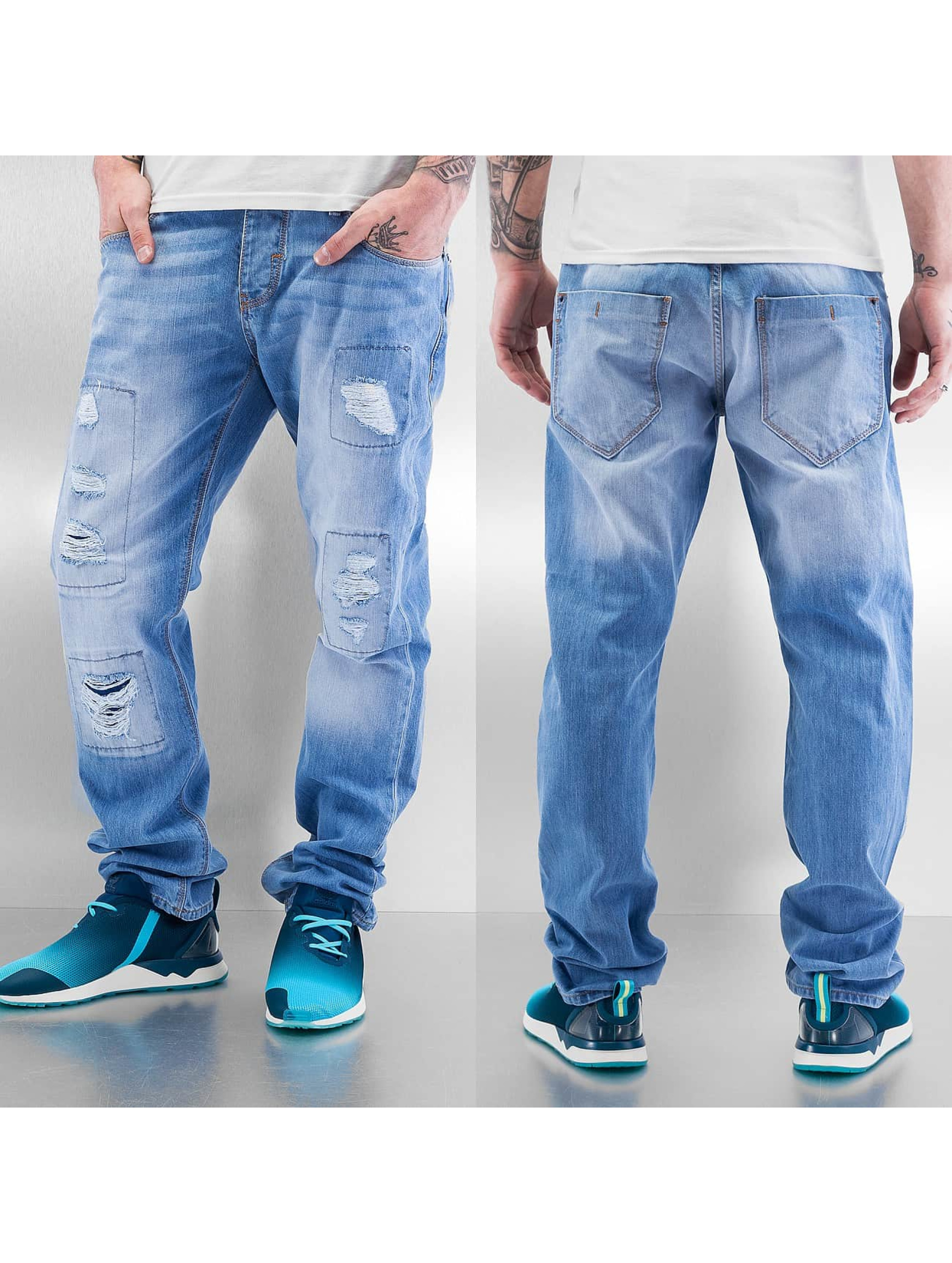 Just Rhyse Straight Fit Jeans Chuck blå