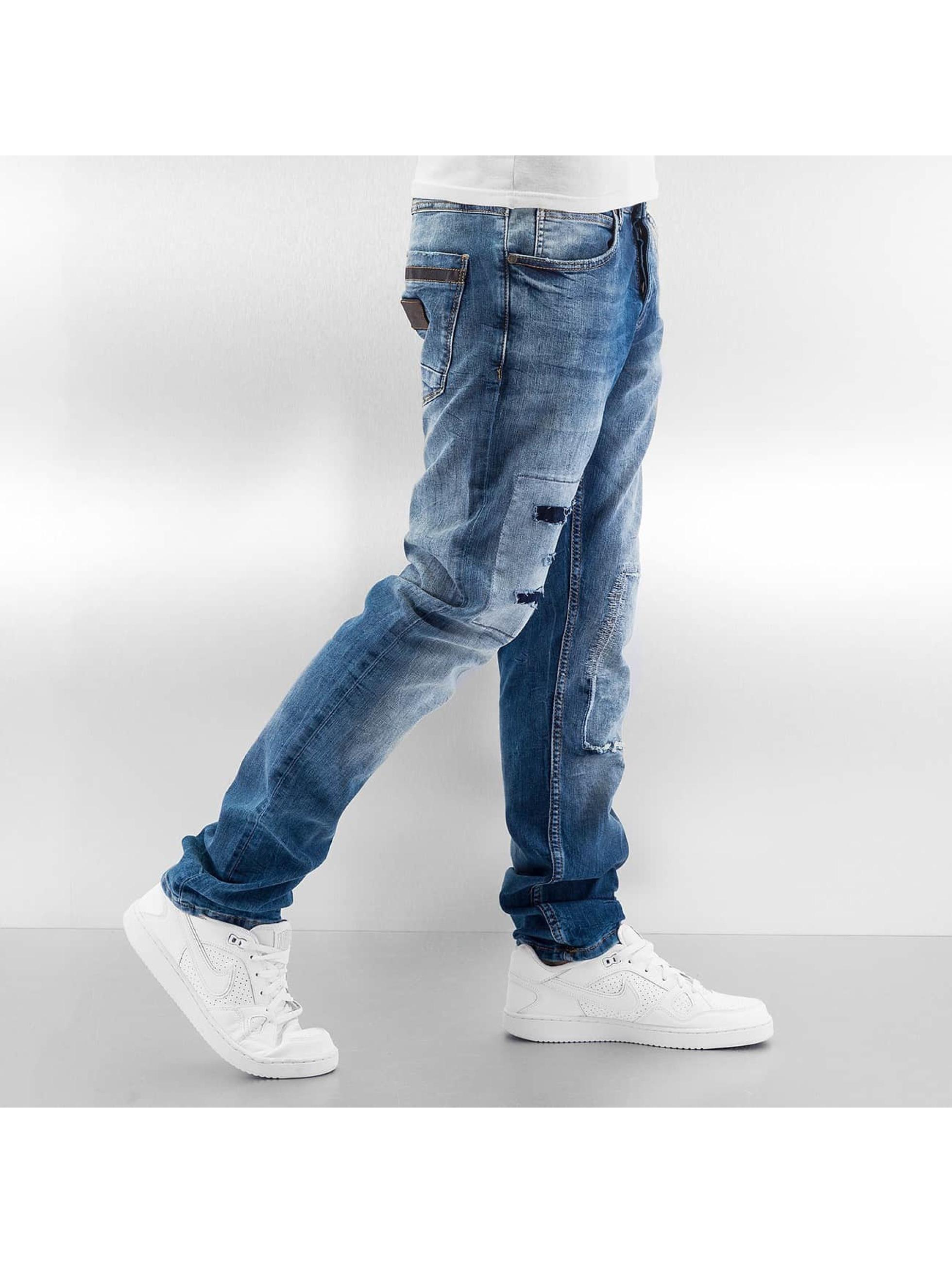 Just Rhyse Straight Fit Jeans Sjard blå