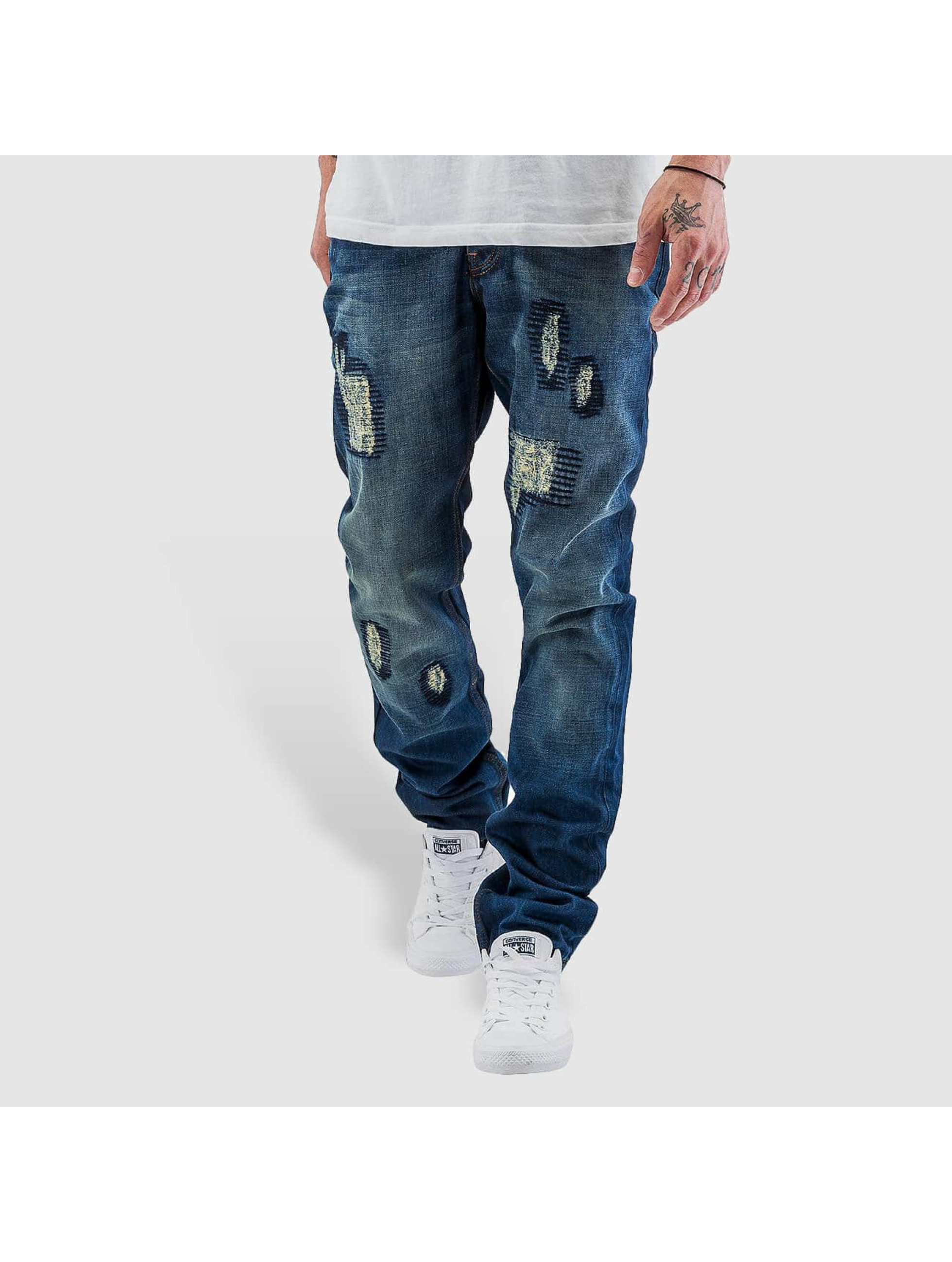 Just Rhyse Straight fit jeans Sunny blauw