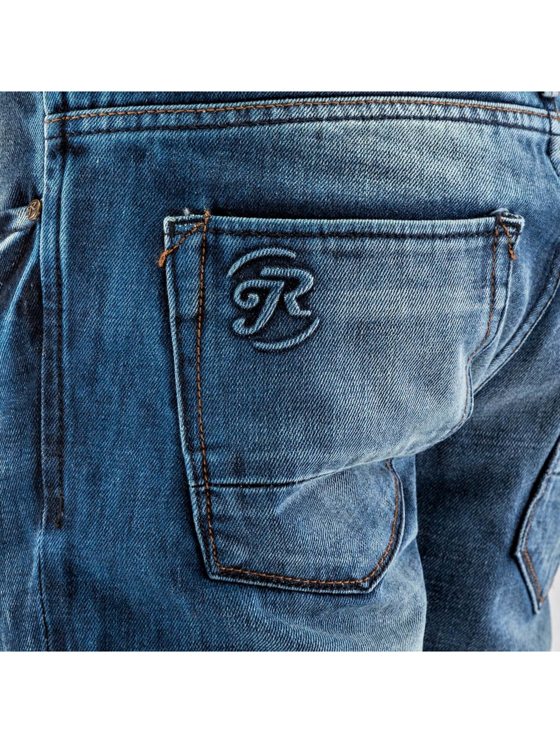 Just Rhyse Straight fit jeans Patch blauw