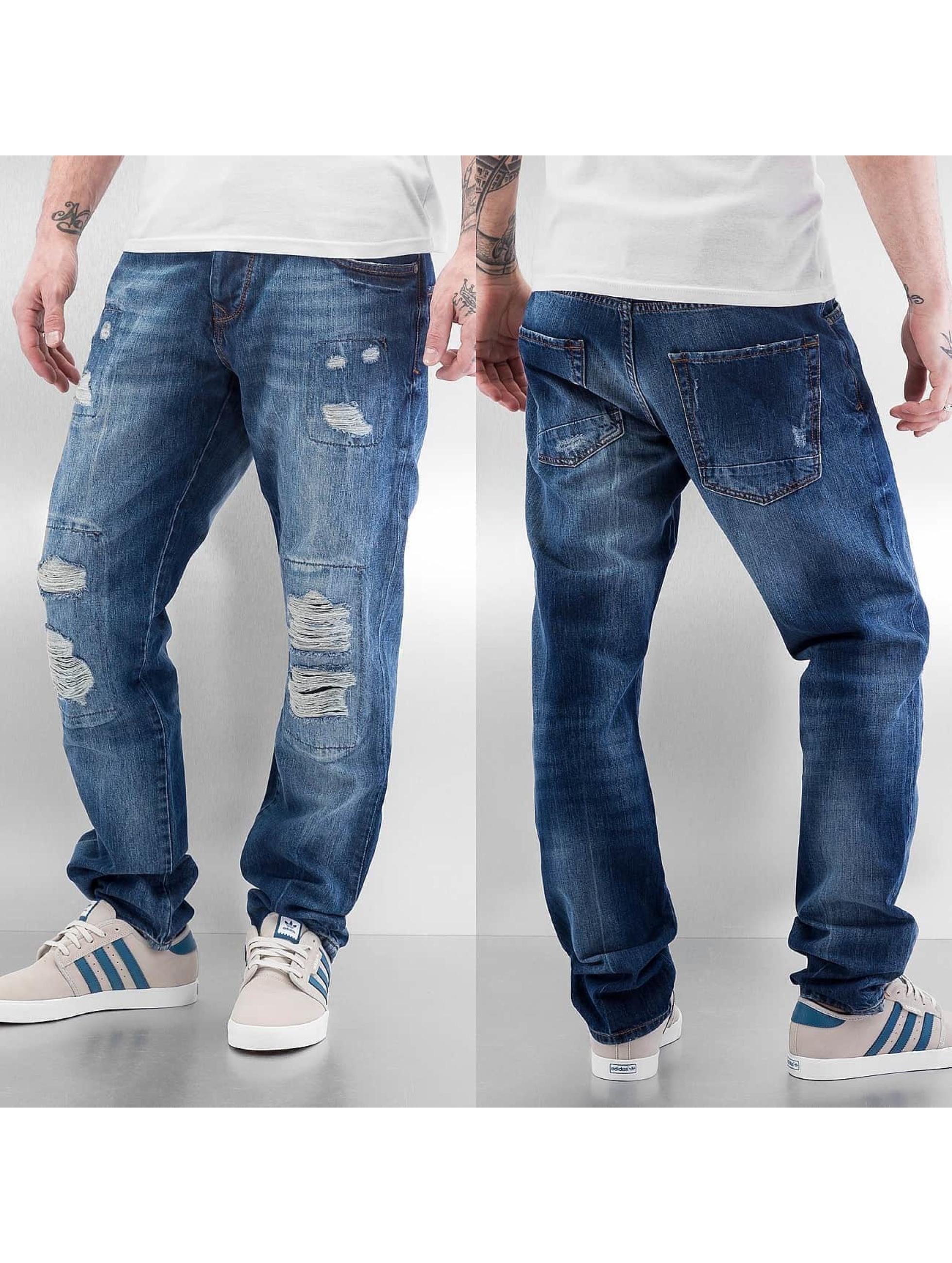 Just Rhyse Straight fit jeans Joona blauw