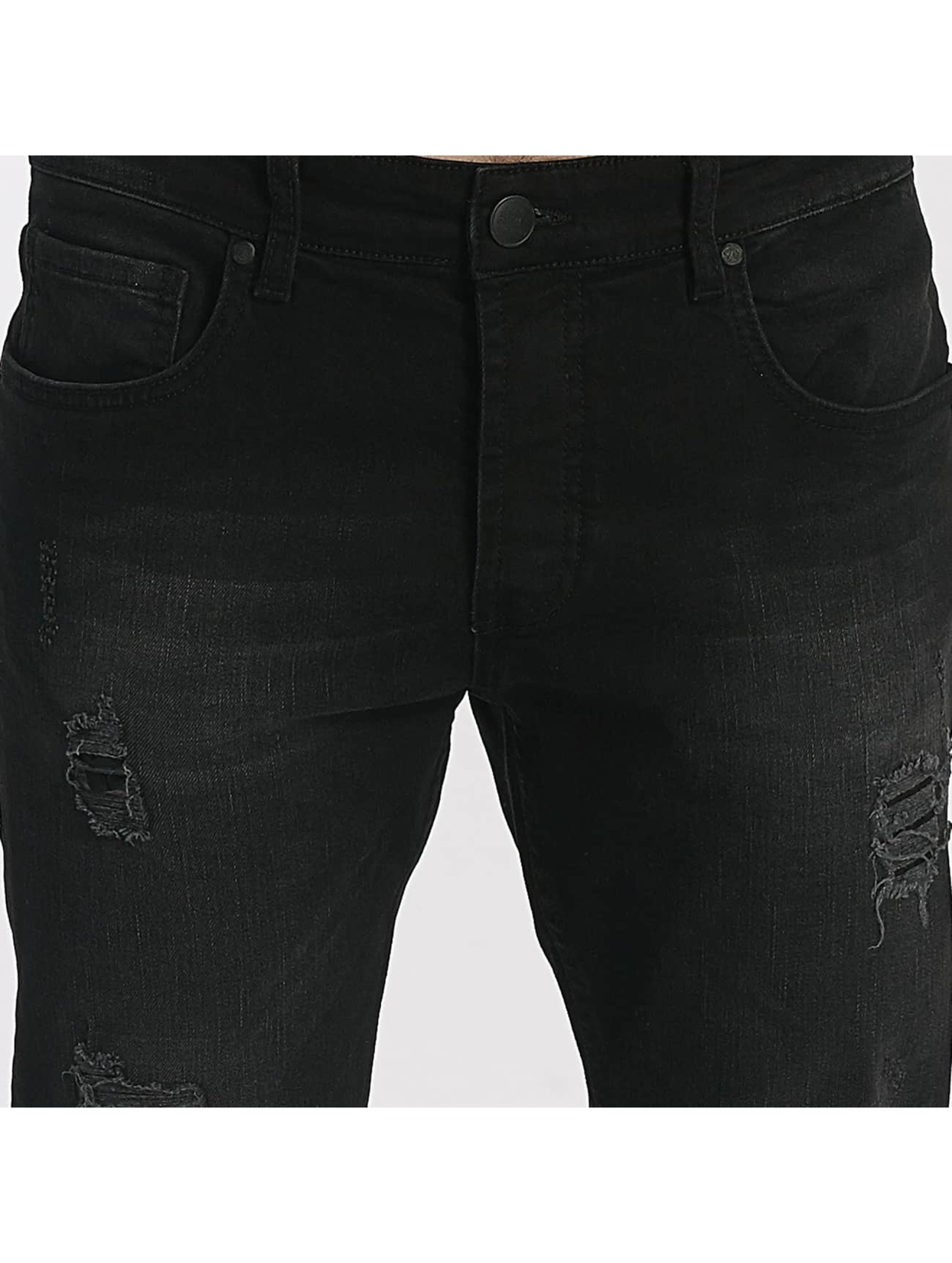 Just Rhyse Straight Fit Jeans Destroyed grå