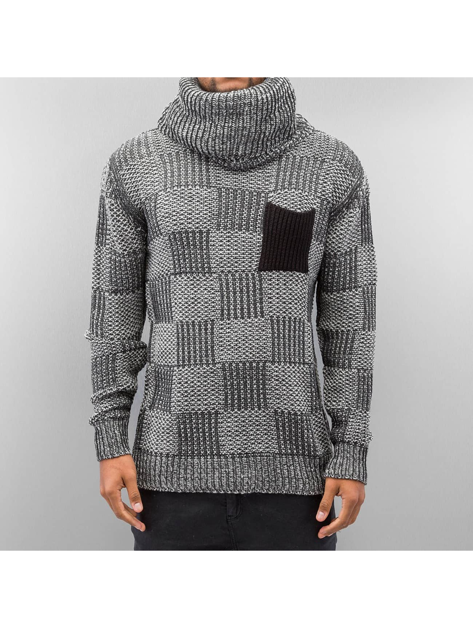Just Rhyse Sweat & Pull Rollneck gris
