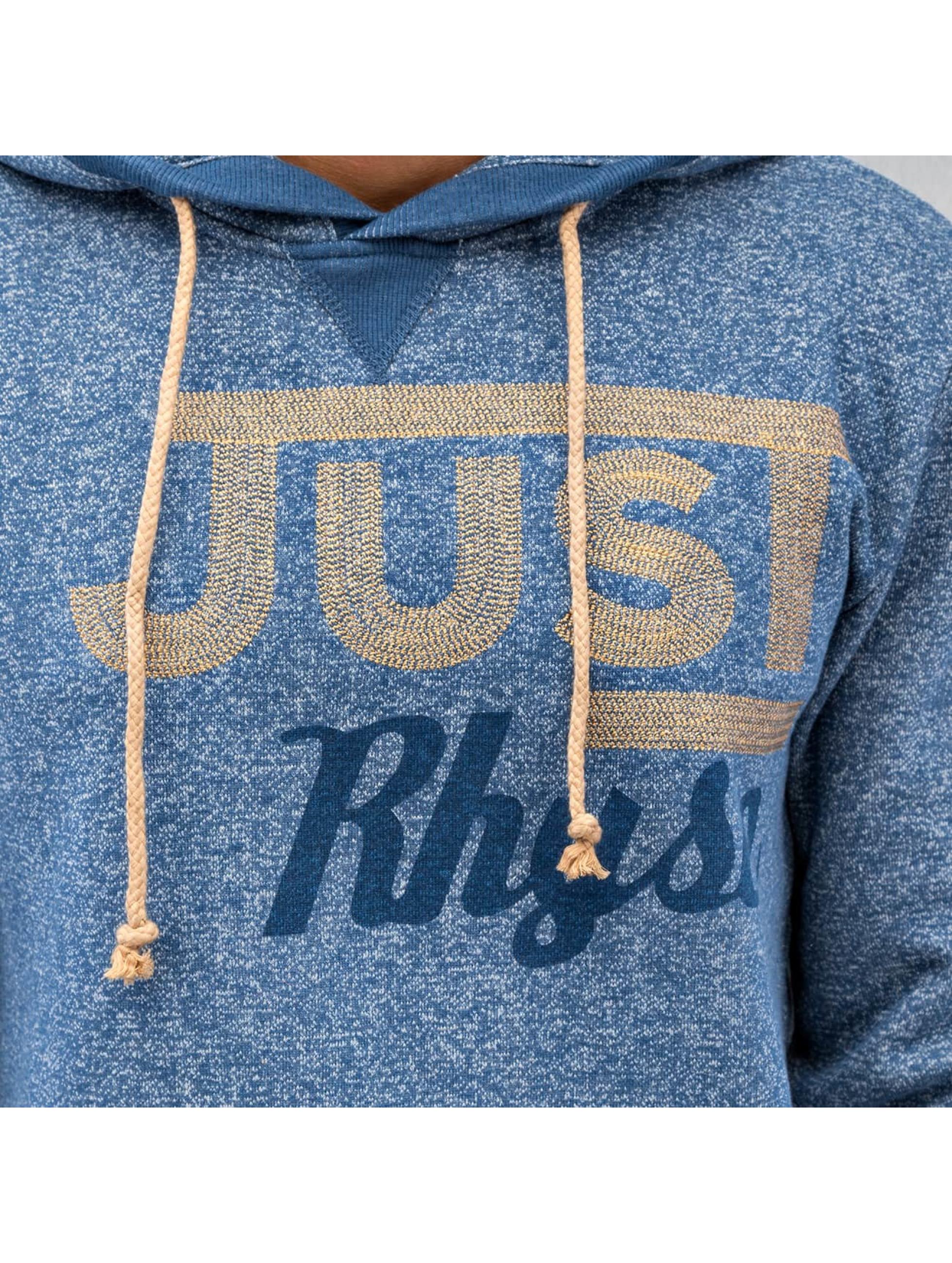Just Rhyse Sweat capuche Logo bleu