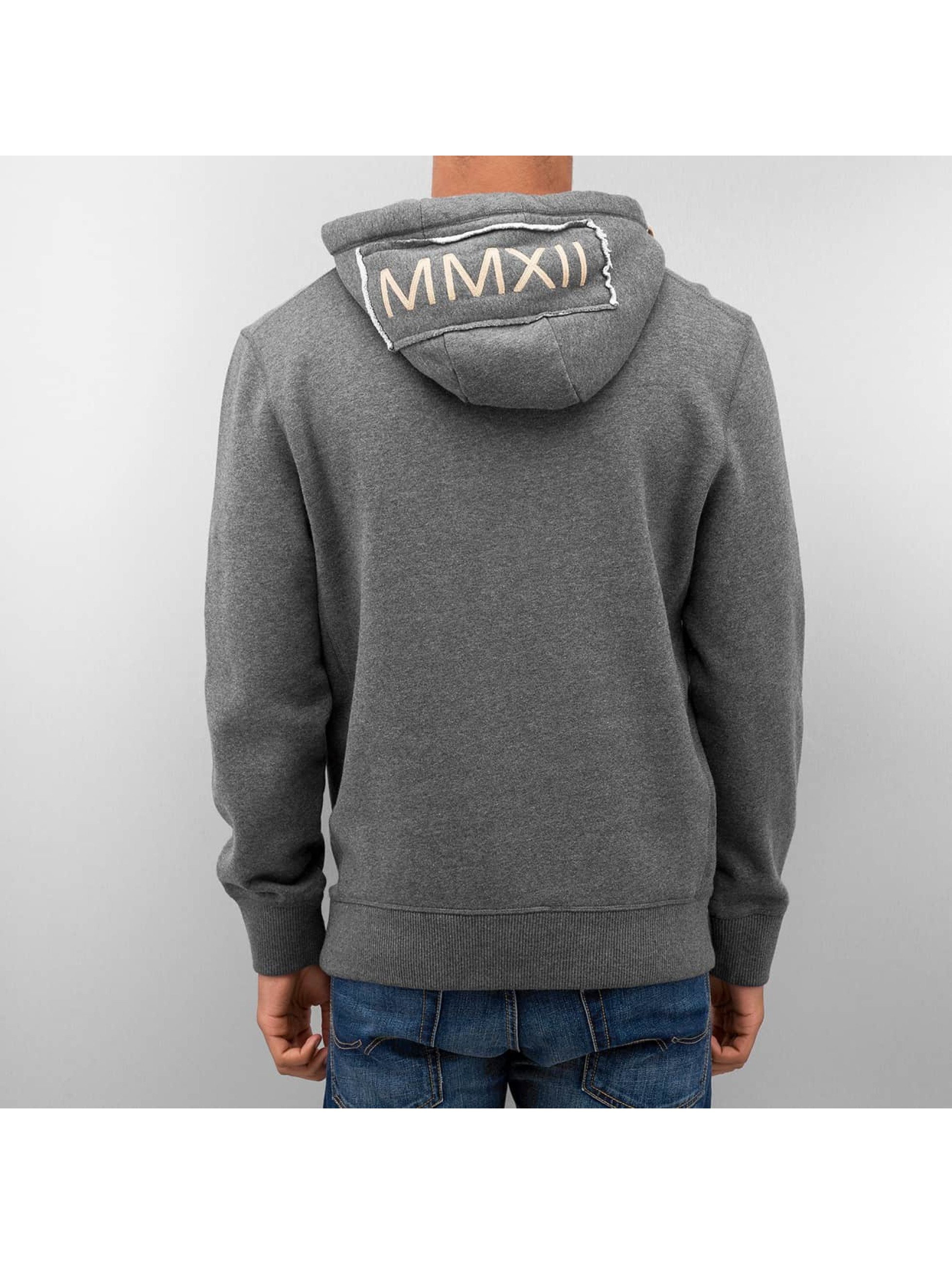 Just Rhyse Sweat capuche Big gris
