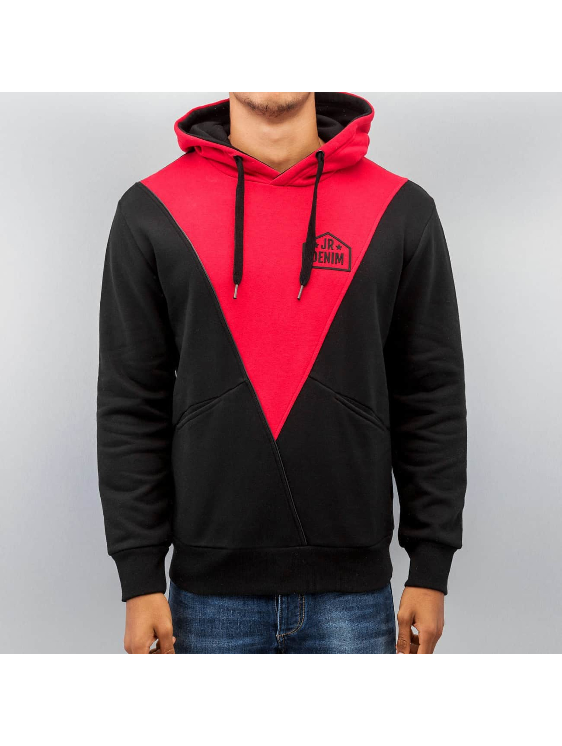 Just Rhyse Sweat capuche Triangle rouge