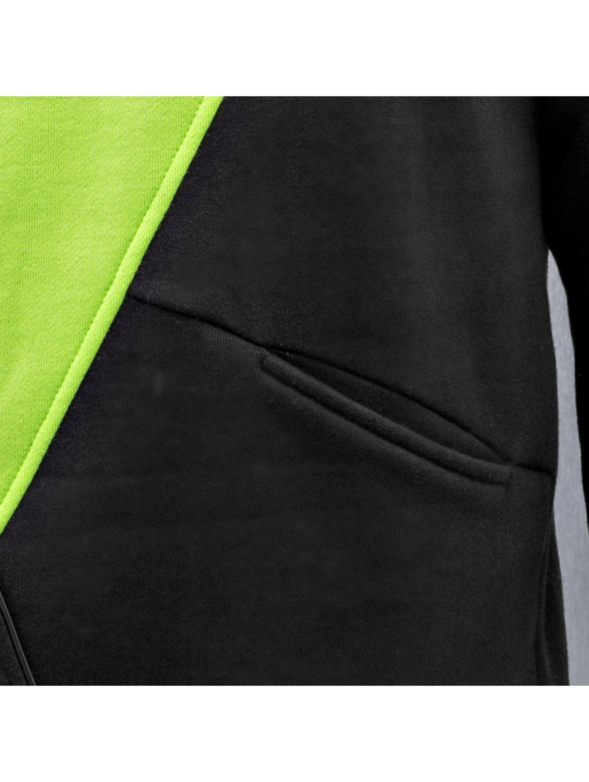 Just Rhyse Sweat capuche Triangle vert