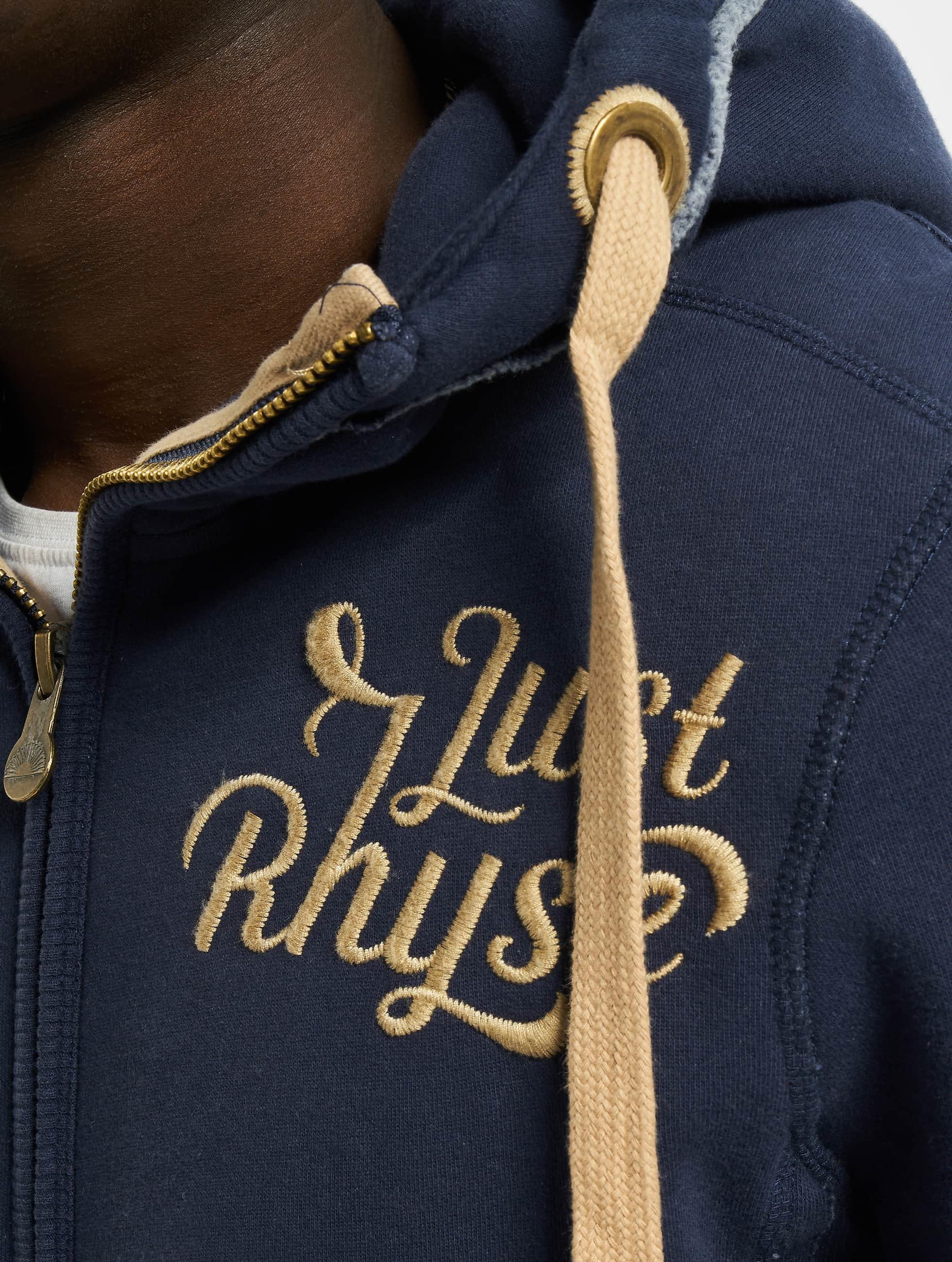 Just Rhyse Sweat capuche zippé Big bleu