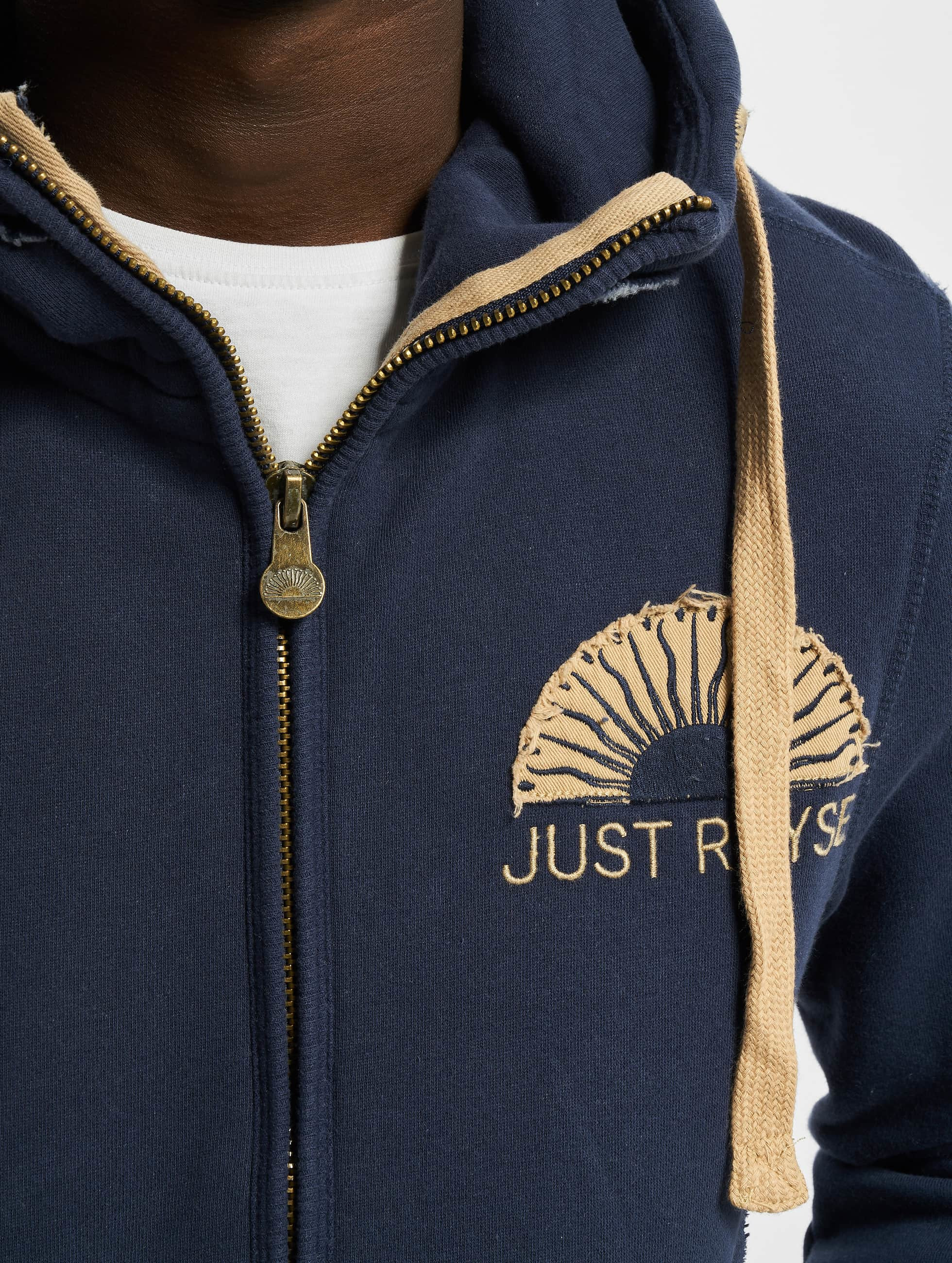 Just Rhyse Sweat capuche zippé Sun bleu