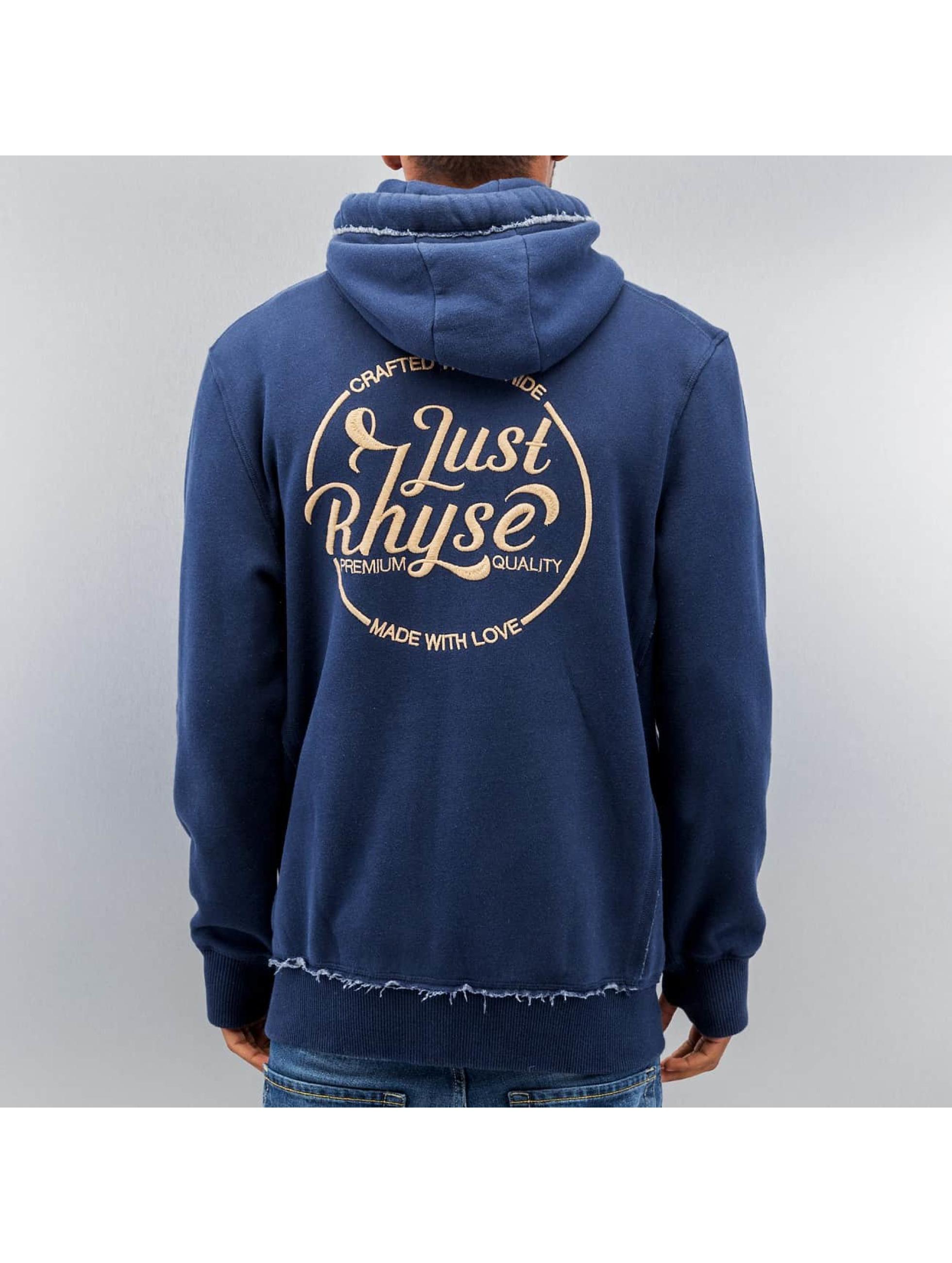 Just Rhyse Sweat capuche zippé MMXII bleu