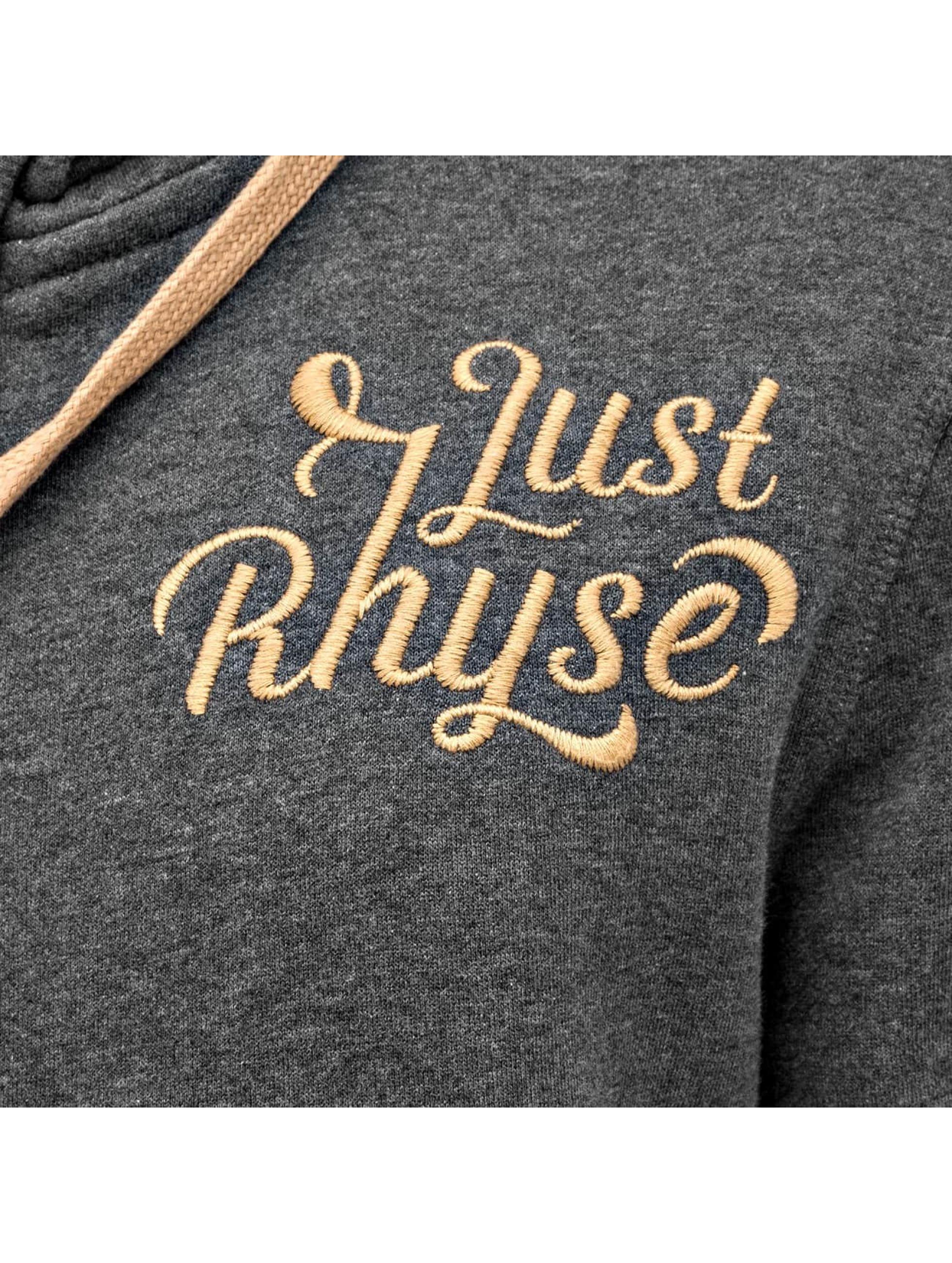 Just Rhyse Sweat capuche zippé Big gris