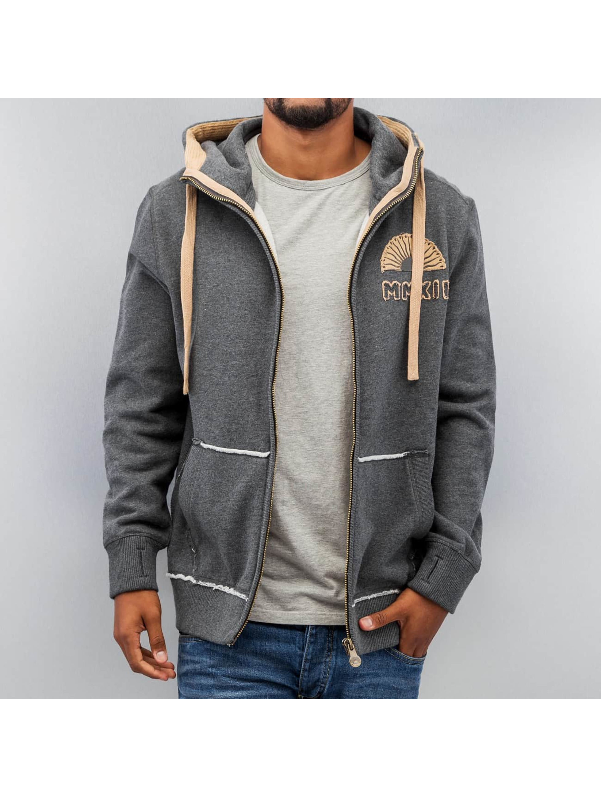 Just Rhyse Sweat capuche zippé MMXII gris