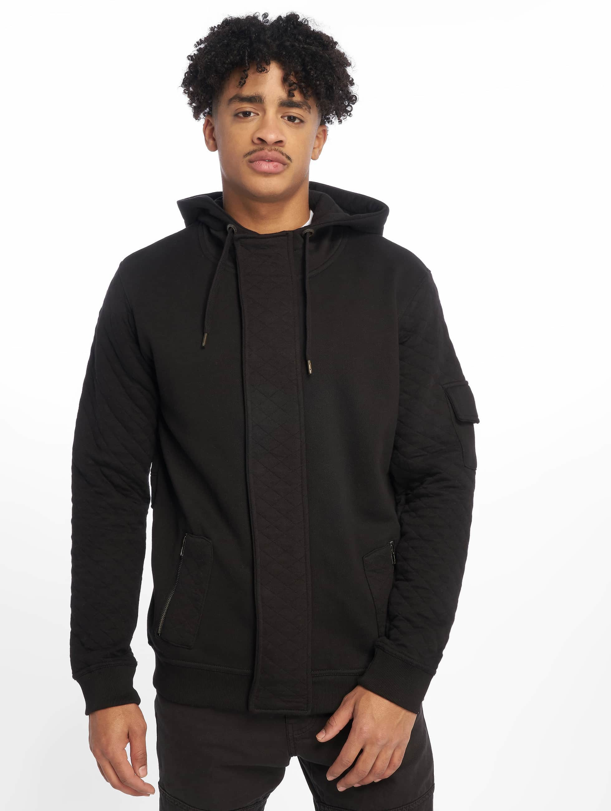Just Rhyse Sweat capuche zippé Step noir